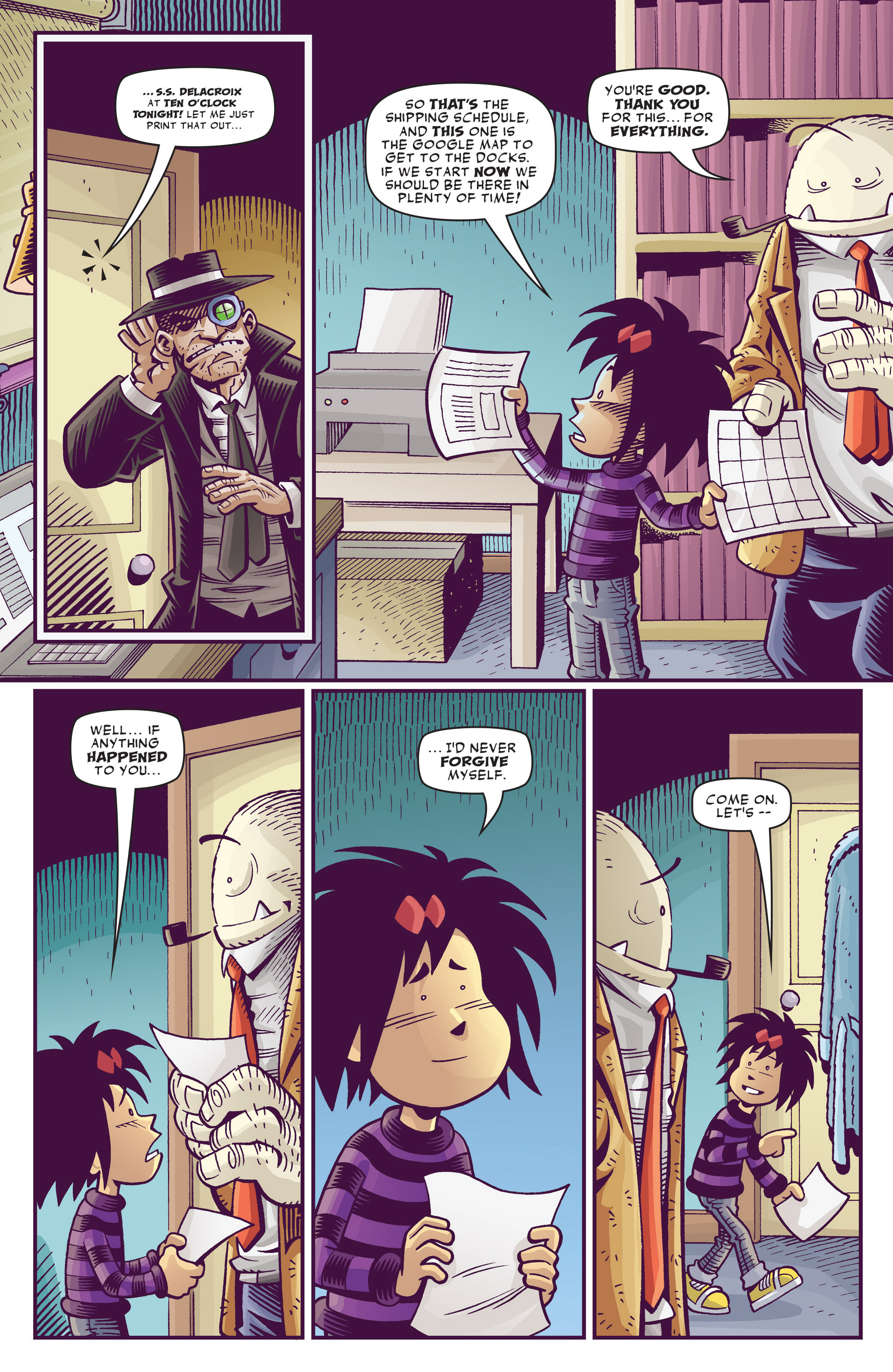 Read online Abigail And The Snowman comic -  Issue #3 - 16