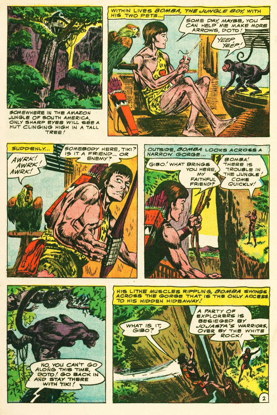 Bomba, The Jungle Boy issue 1 - Page 3