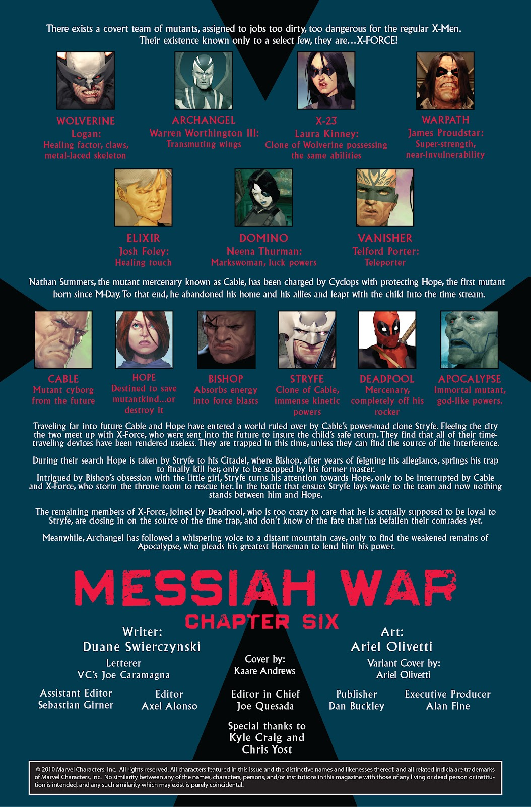Read online X-Force/Cable: Messiah War comic -  Issue # _TPB (Part 2) - 93