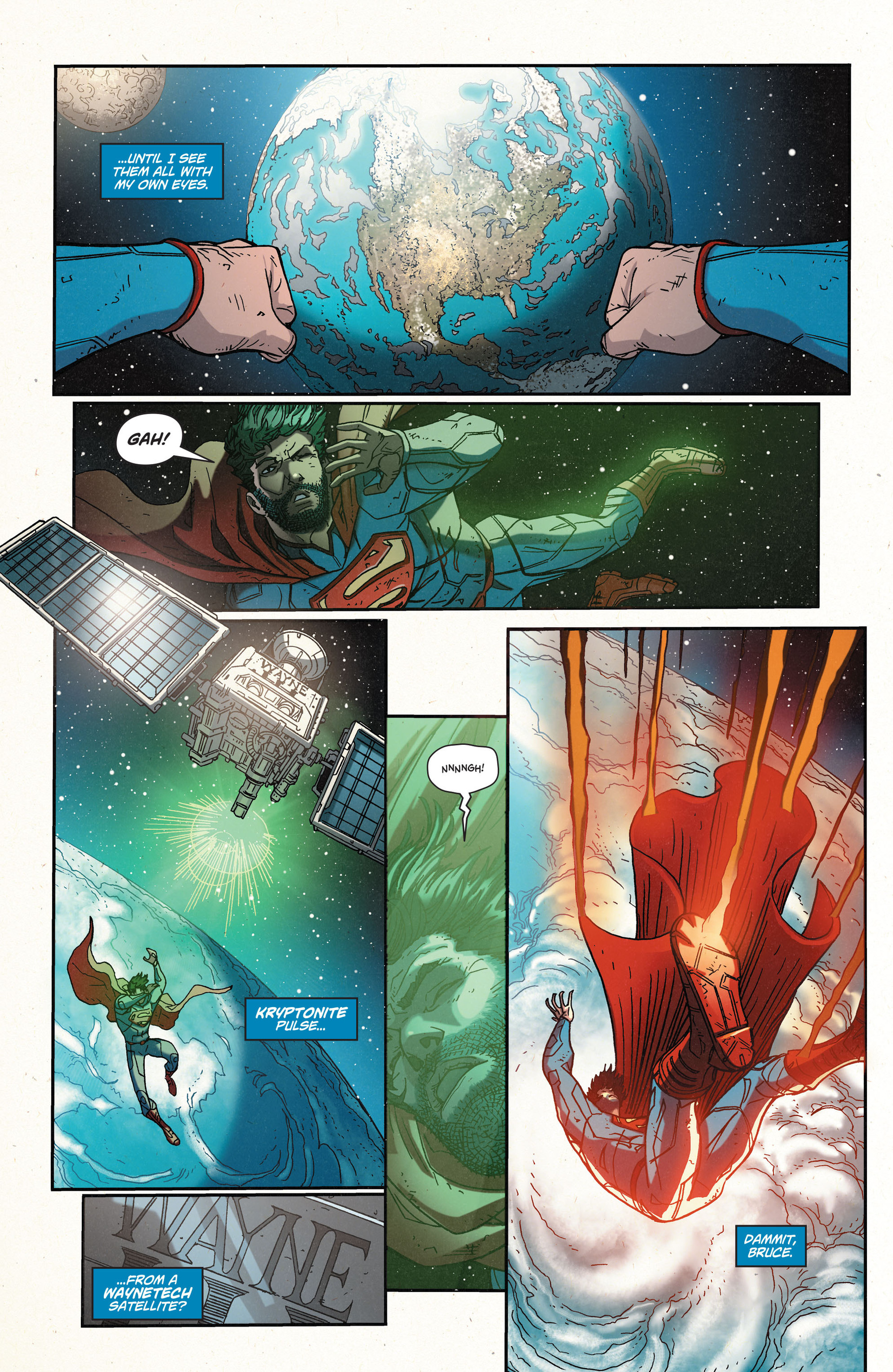 Read online Action Comics (2011) comic -  Issue #35 - 4