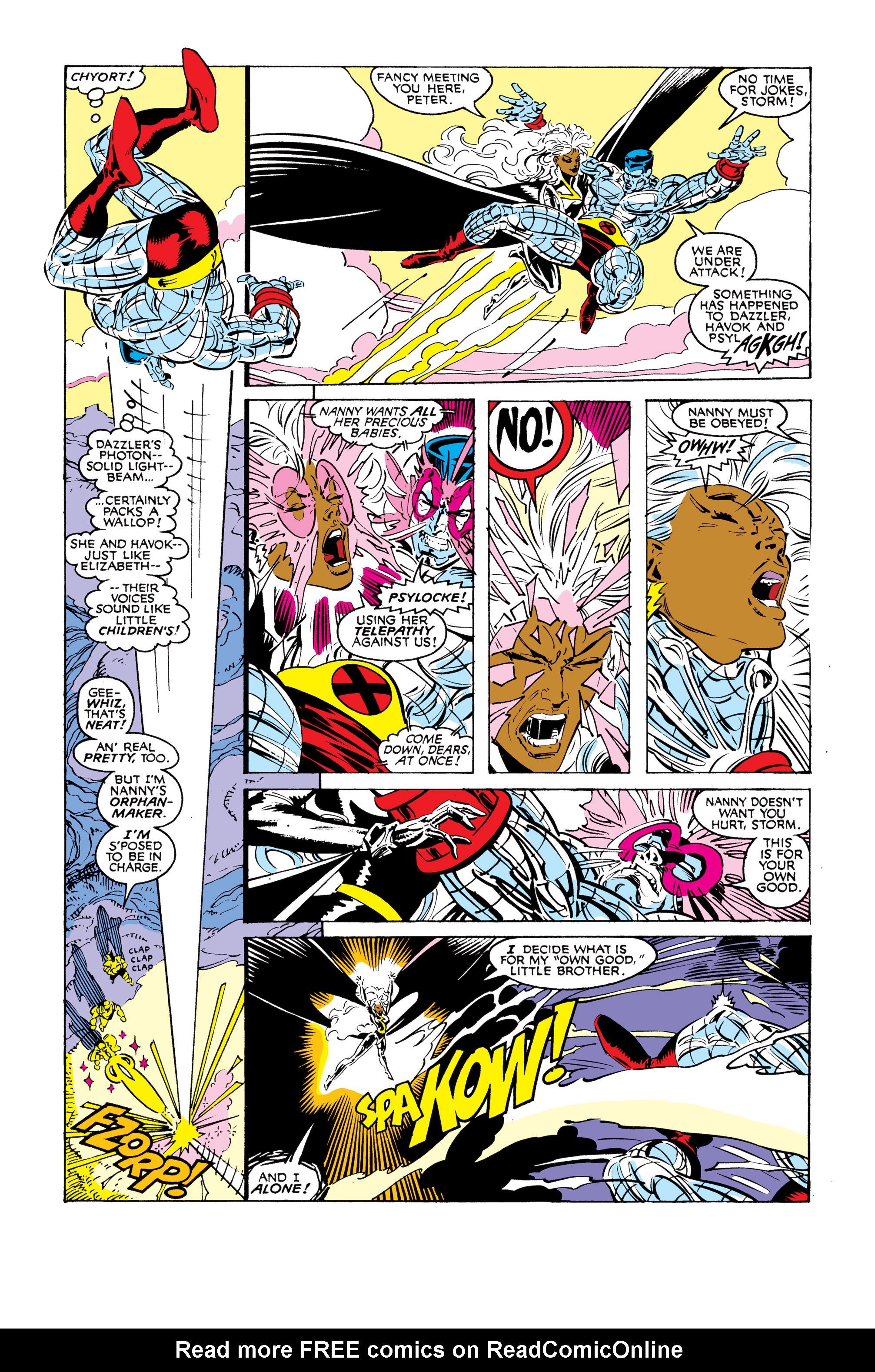 Read online Uncanny X-Men (1963) comic -  Issue #248 - 15