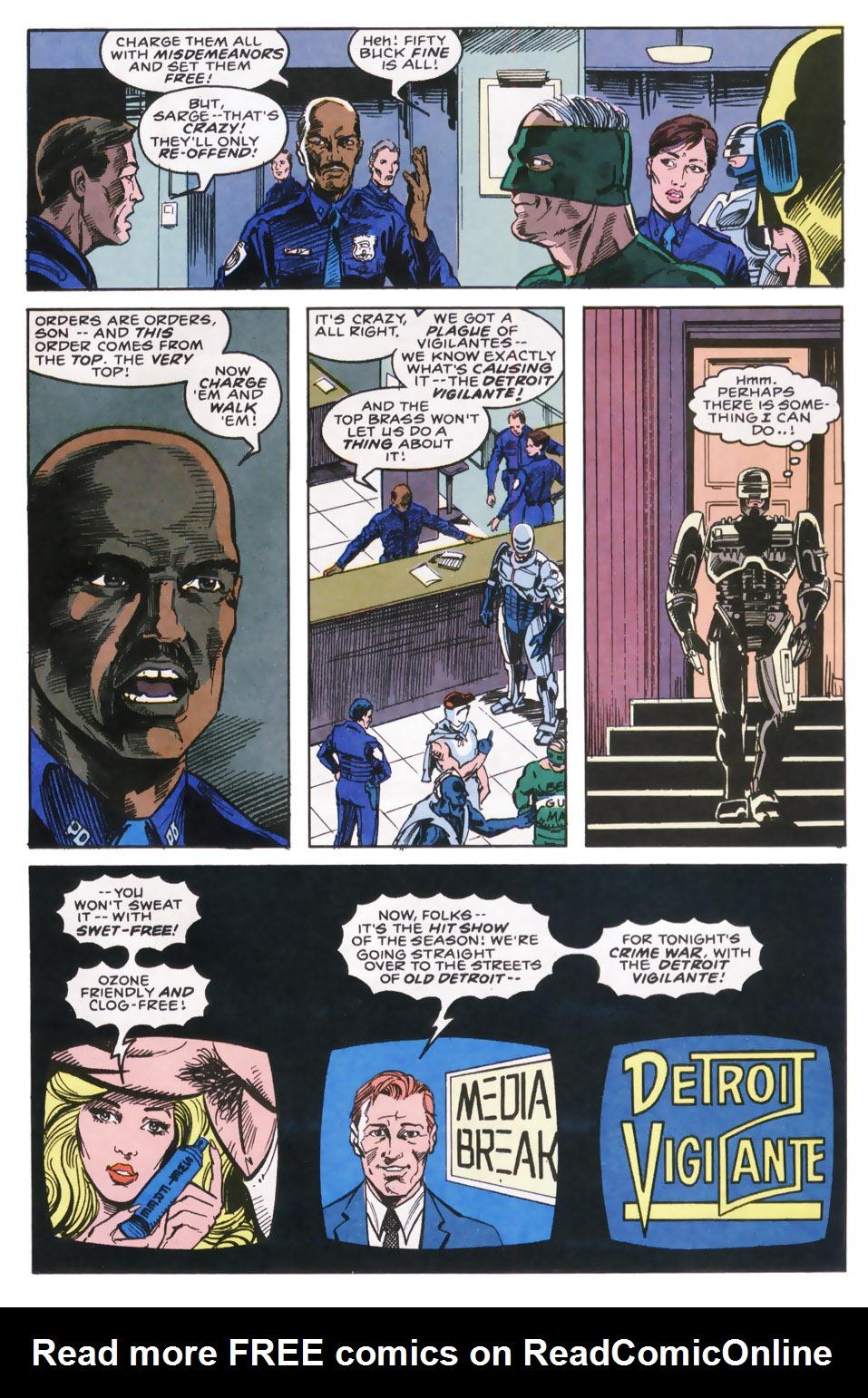 Read online Robocop (1990) comic -  Issue #9 - 11