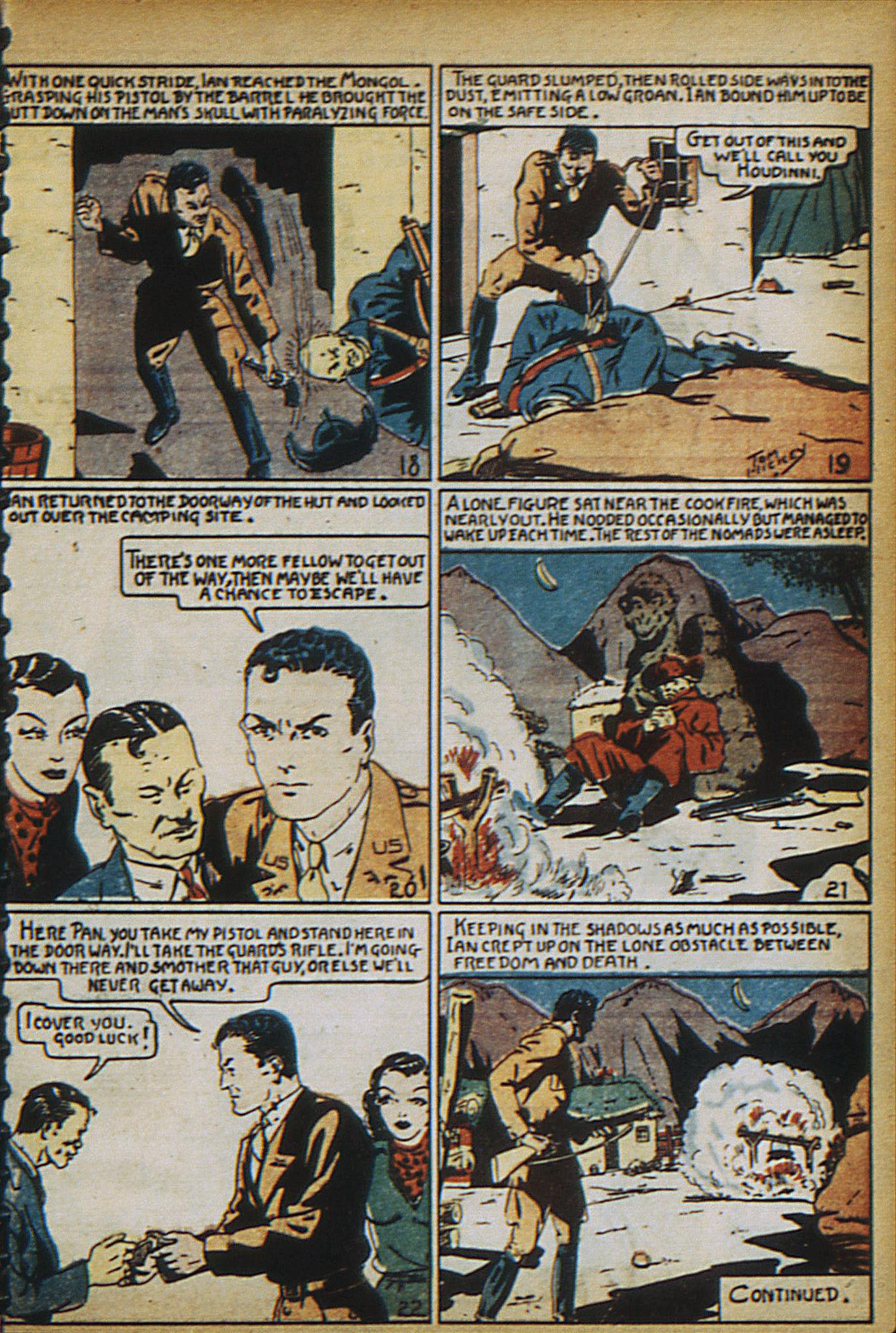 Read online Adventure Comics (1938) comic -  Issue #18 - 10