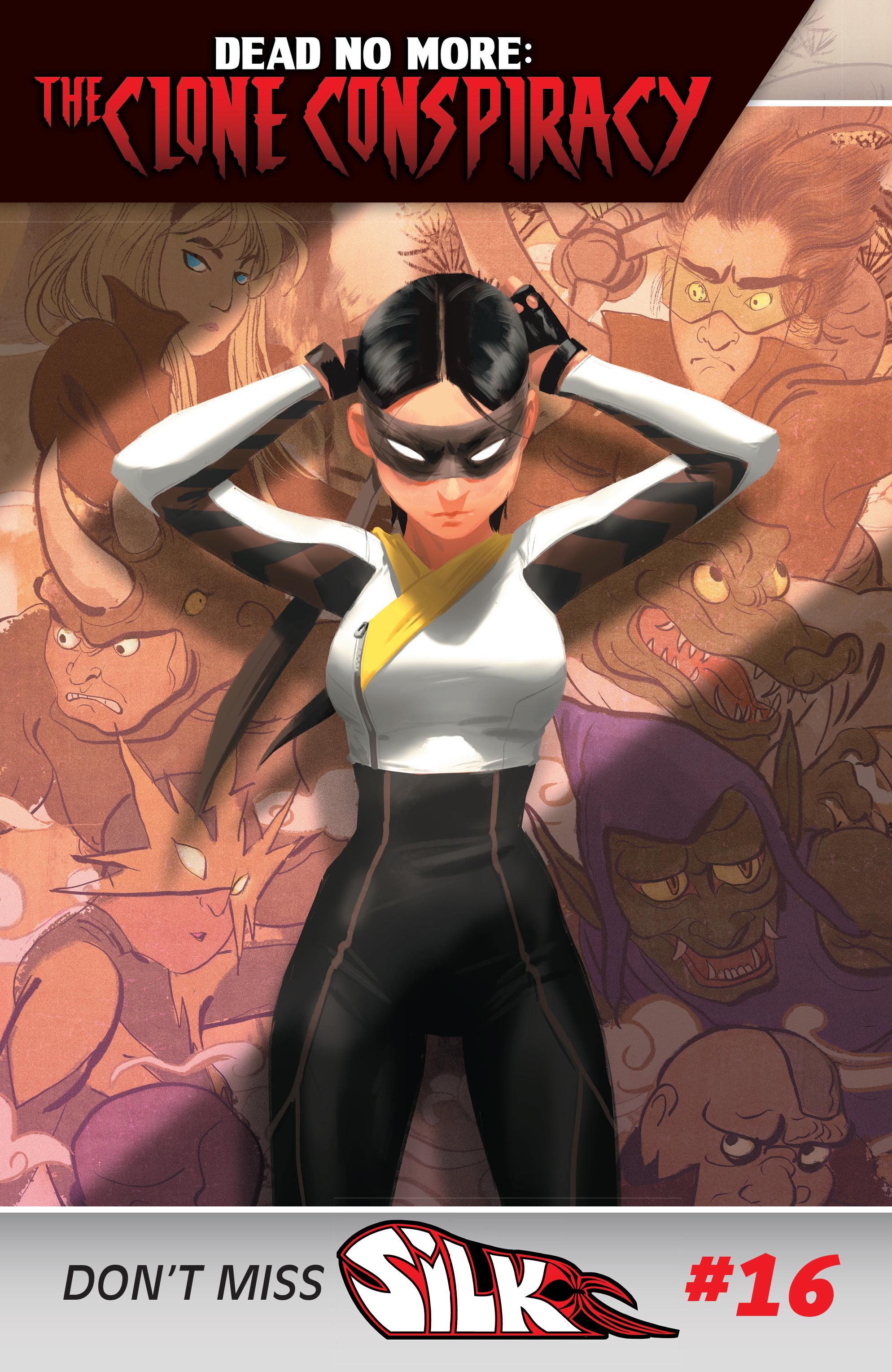 Read online Silk (2016) comic -  Issue #15 - 22