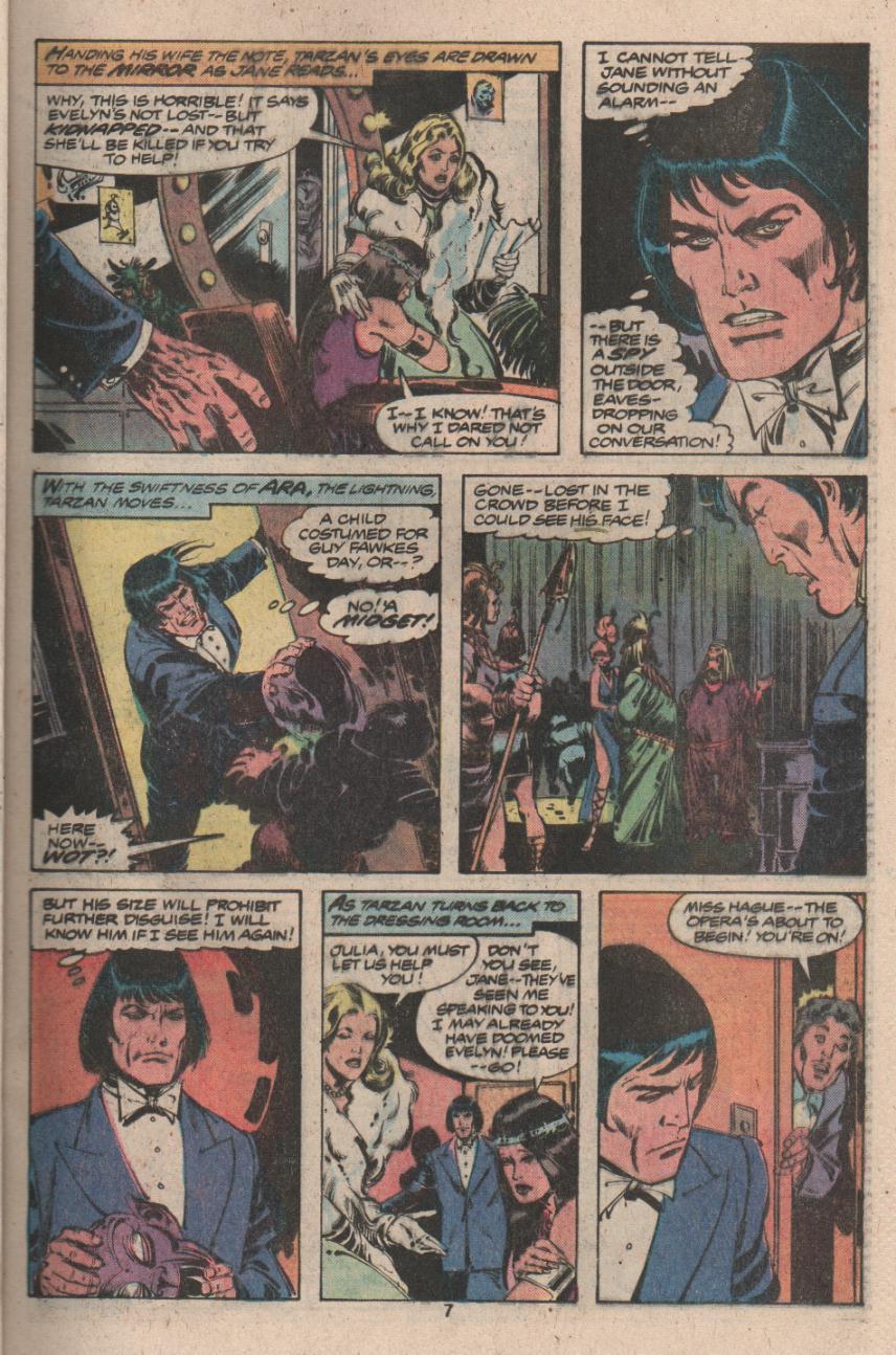 Read online Tarzan (1977) comic -  Issue # _Annual 3 - 6