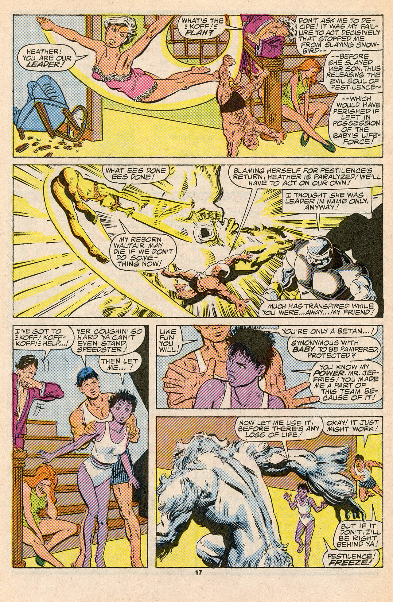 Read online Alpha Flight (1983) comic -  Issue #45 - 24