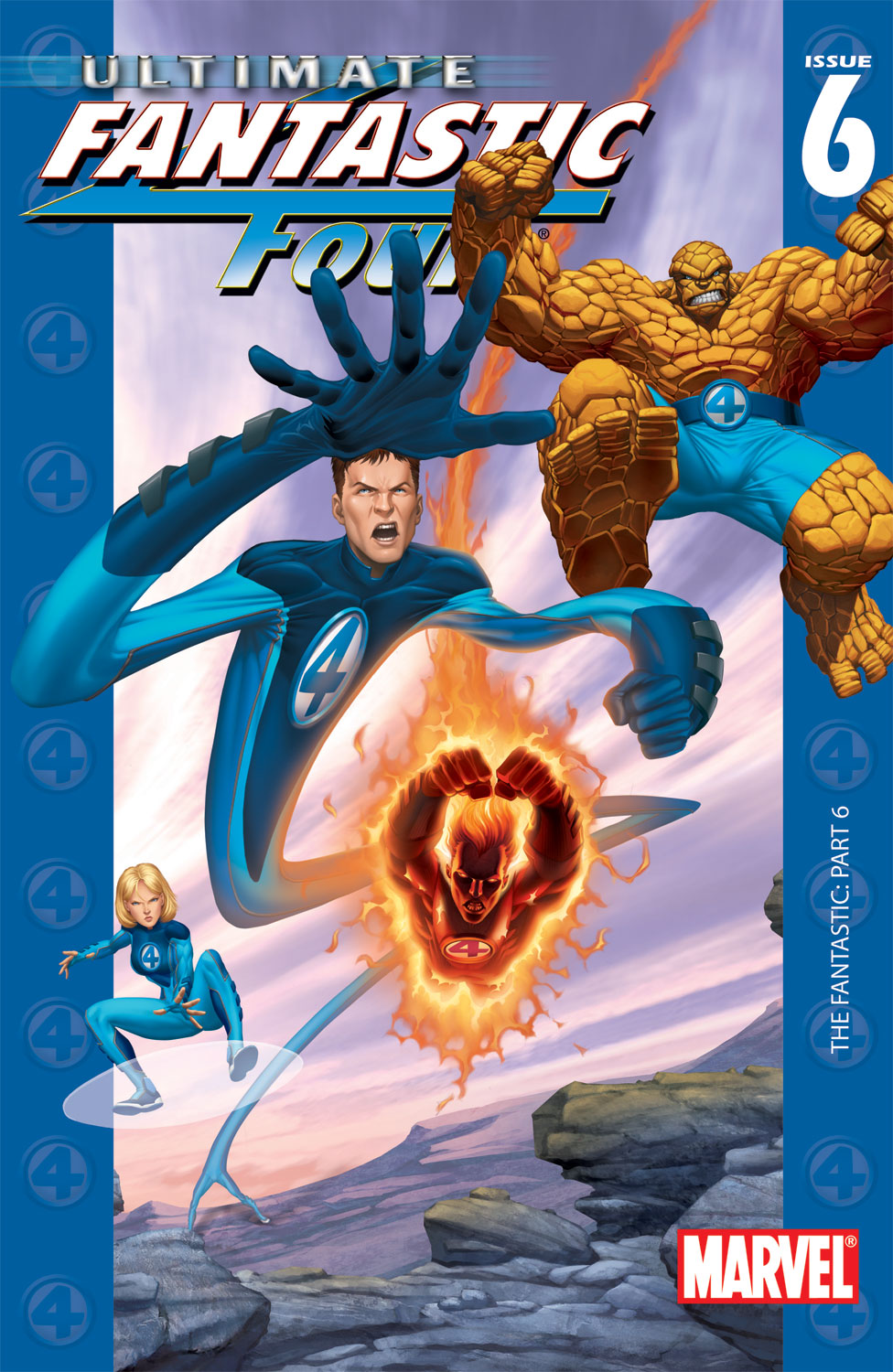 Read online Ultimate Fantastic Four (2004) comic -  Issue #6 - 1