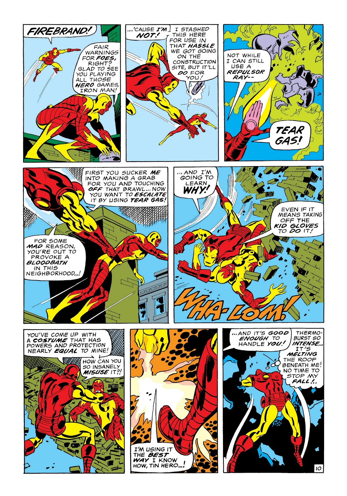 Read online Marvel Masterworks: The Invincible Iron Man comic -  Issue # TPB 7 (Part 1) - 39