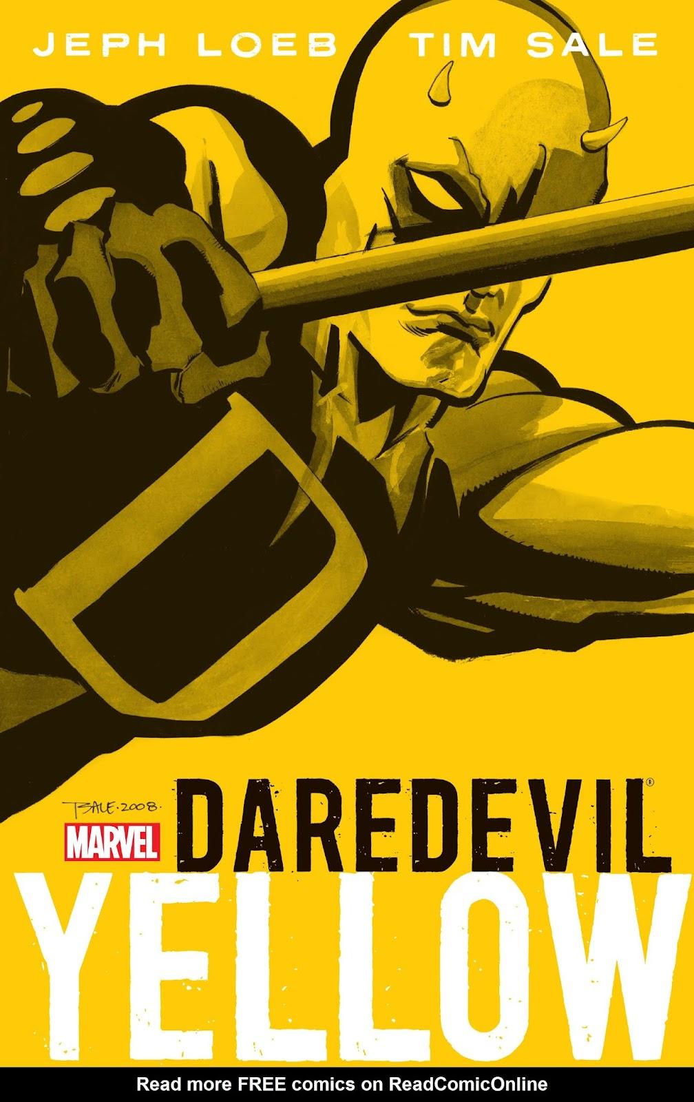 Daredevil: Yellow _TPB Page 1