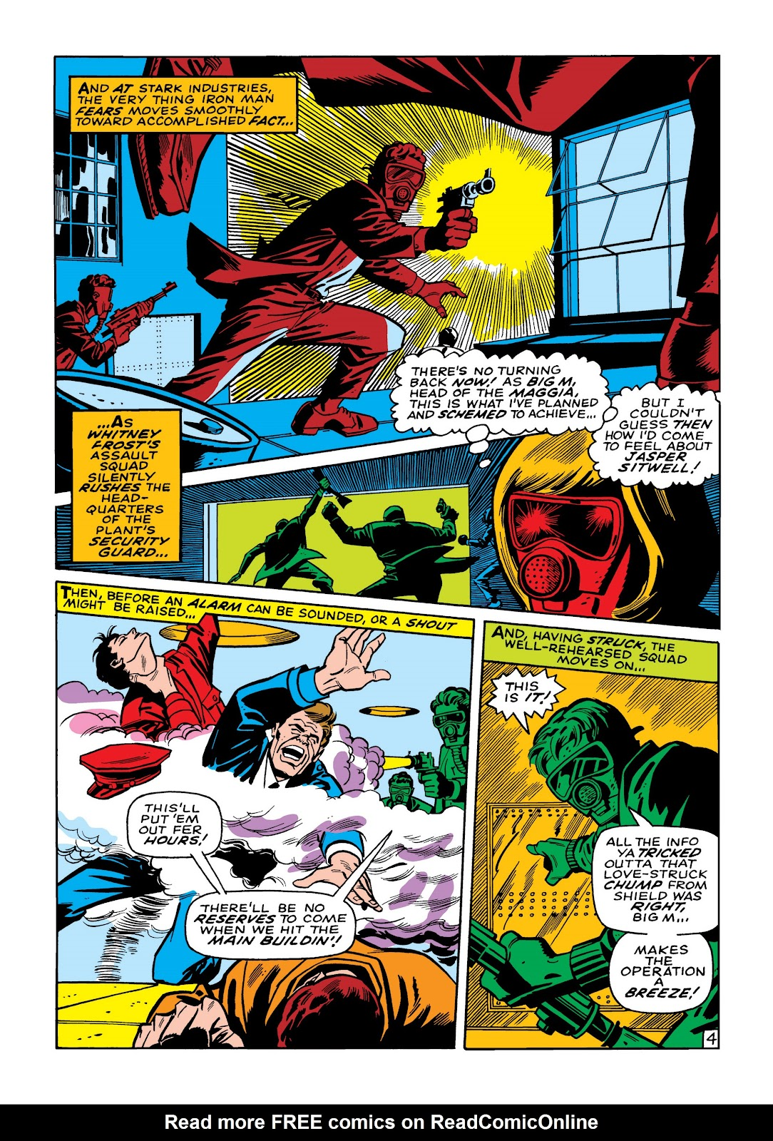 Read online Marvel Masterworks: The Invincible Iron Man comic -  Issue # TPB 5 (Part 2) - 37
