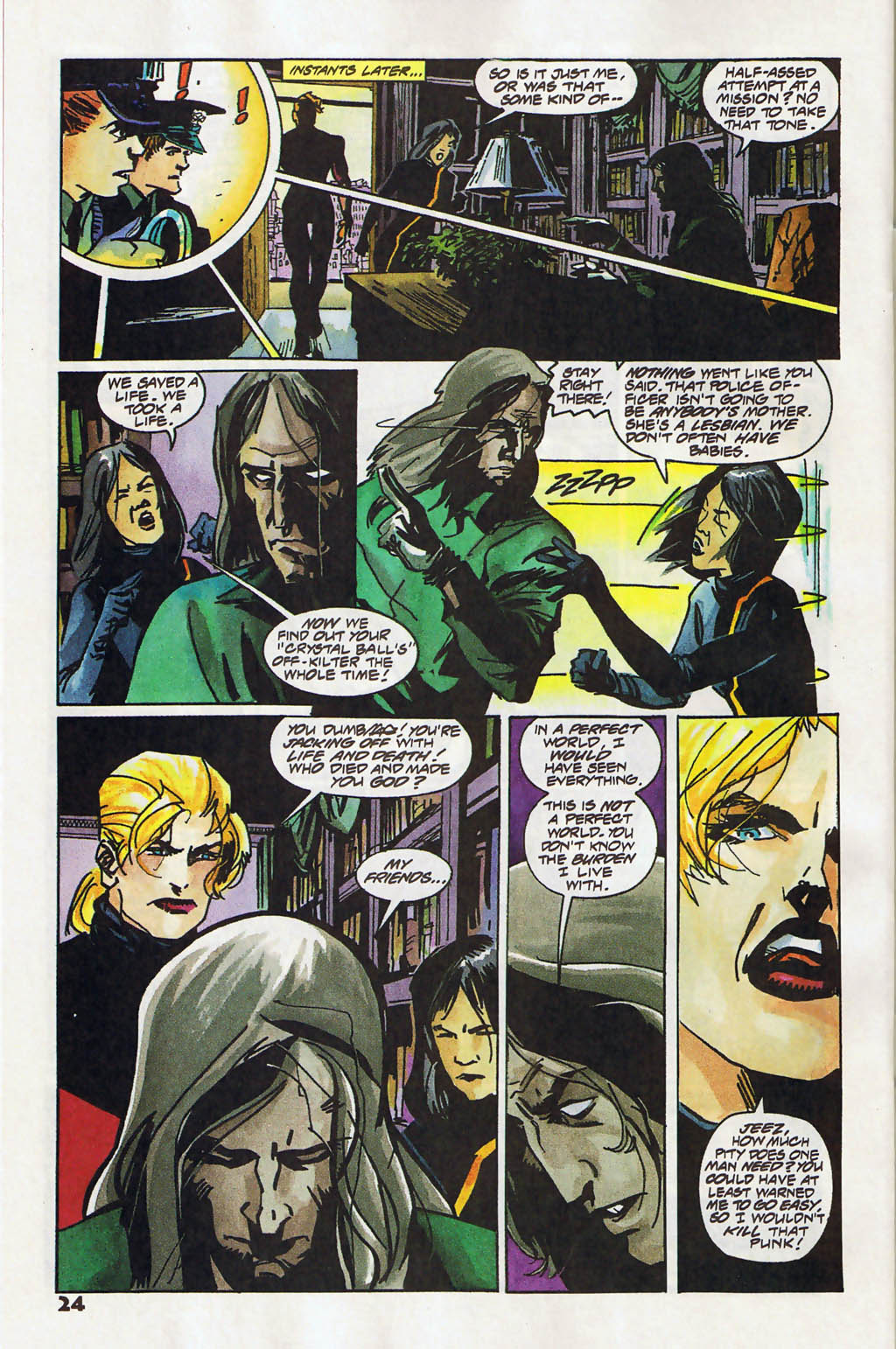 Read online Shadow Cabinet comic -  Issue #11 - 18