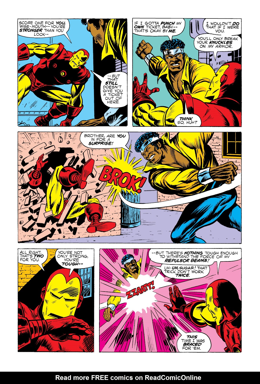 Read online Marvel Masterworks: Luke Cage, Power Man comic -  Issue # TPB 2 (Part 1) - 21
