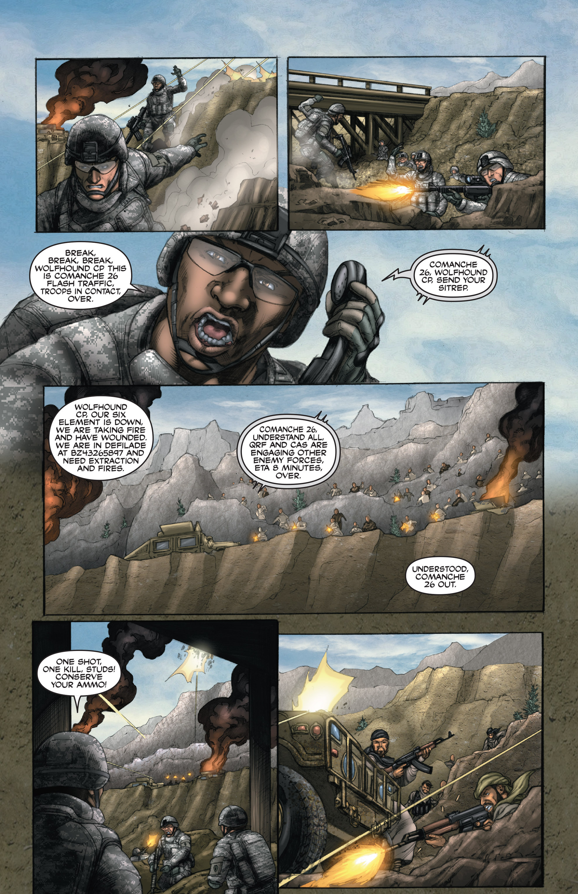 Read online America's Army comic -  Issue #14 - 17