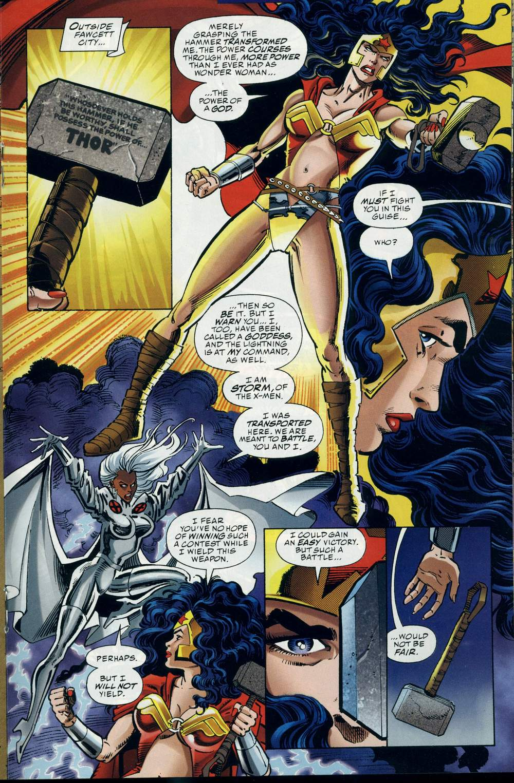 Read online DC Versus Marvel Comics comic -  Issue #3 - 22