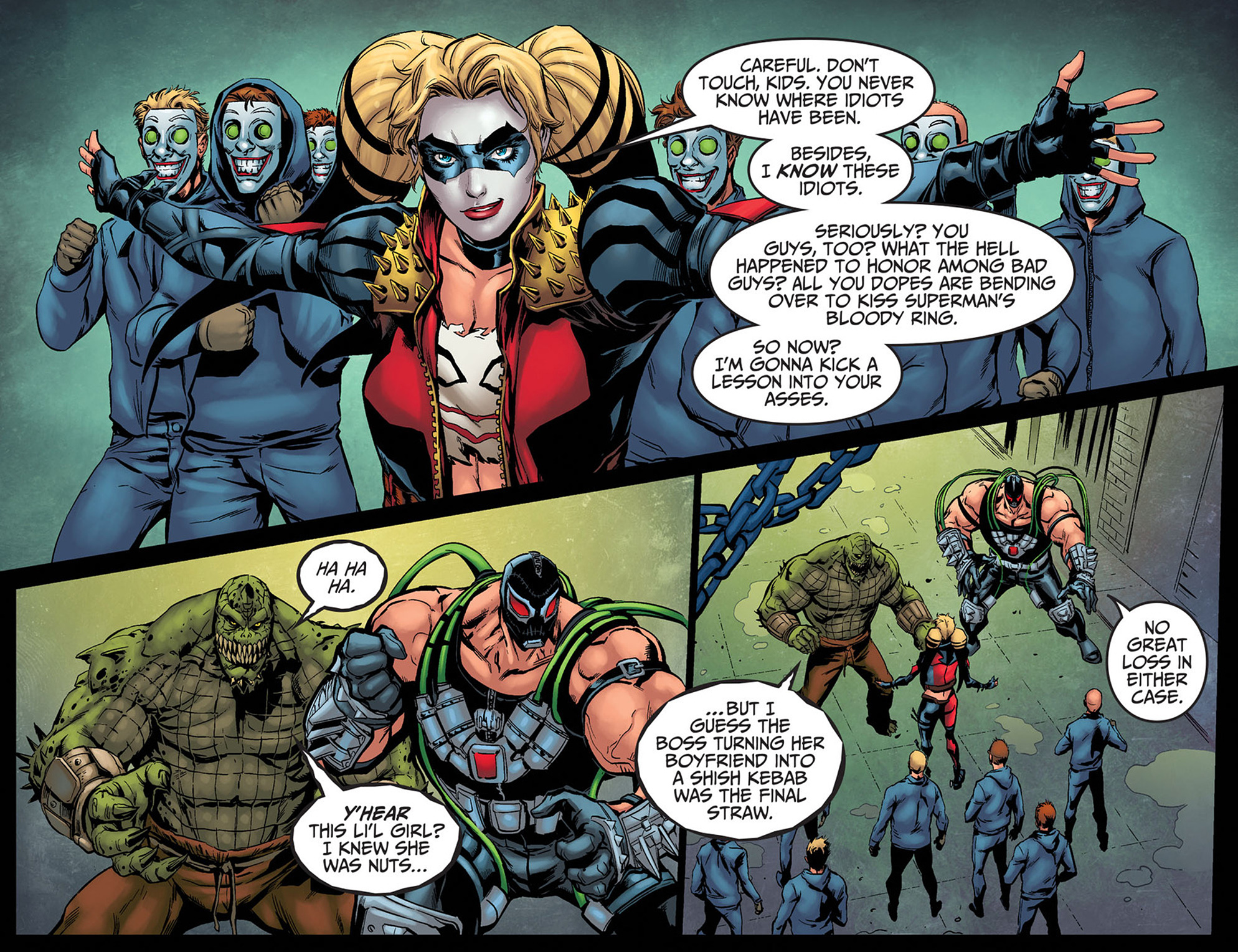 Read online Injustice: Ground Zero comic -  Issue #8 - 4