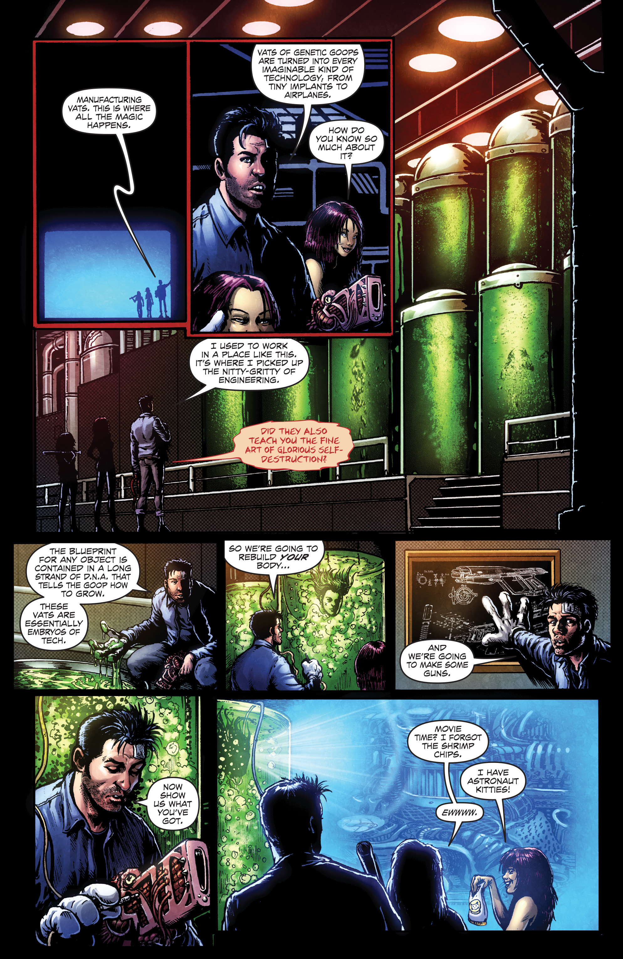 Read online Ballistic (2013) comic -  Issue #4 - 4