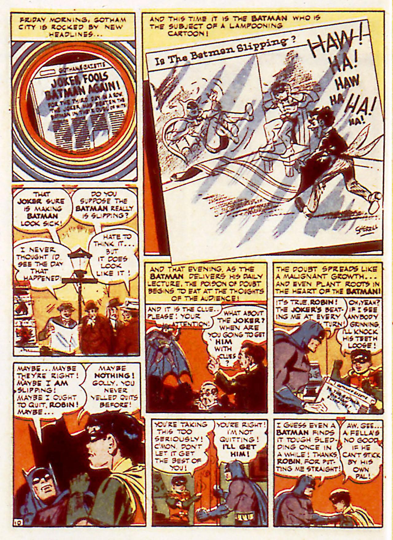 Read online Detective Comics (1937) comic -  Issue #71 - 12