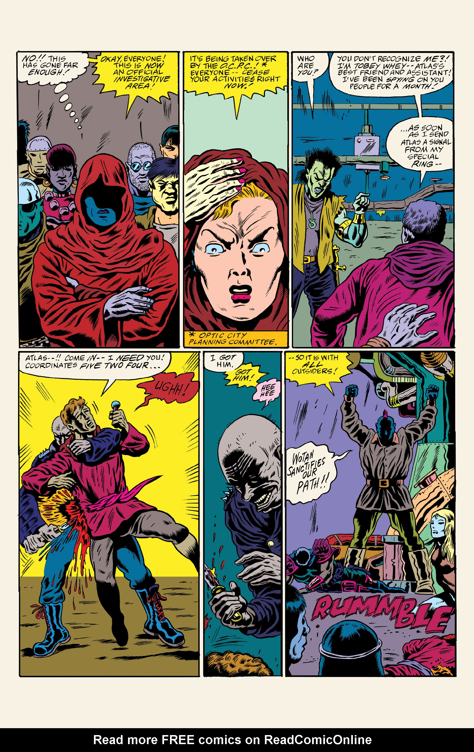 Read online All Time Comics: Crime Destroyer comic -  Issue #1 - 21