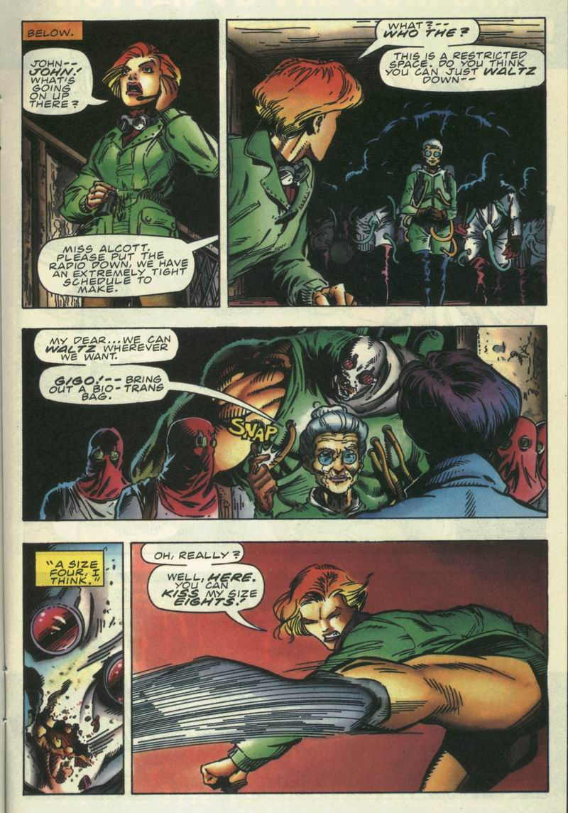 Read online Secret Weapons comic -  Issue #15 - 10