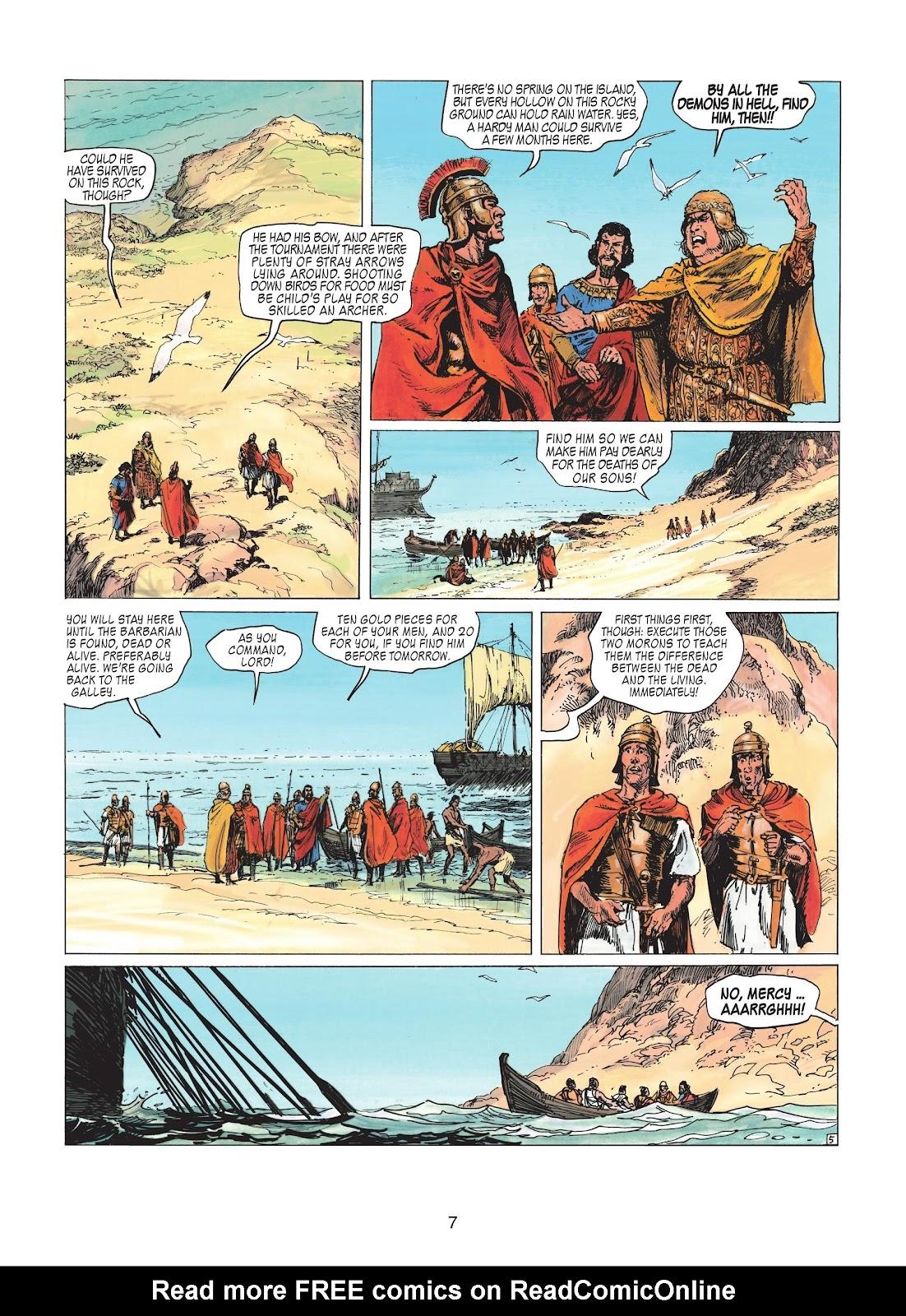 Read online Thorgal comic -  Issue #20 - 9