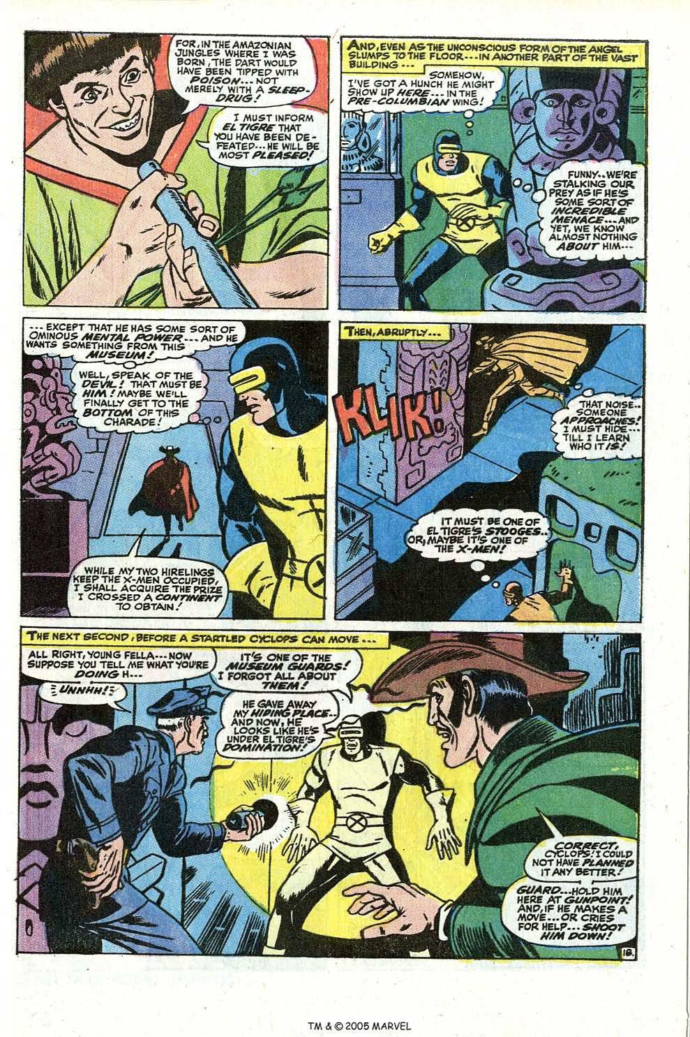 Read online Uncanny X-Men (1963) comic -  Issue #73 - 29