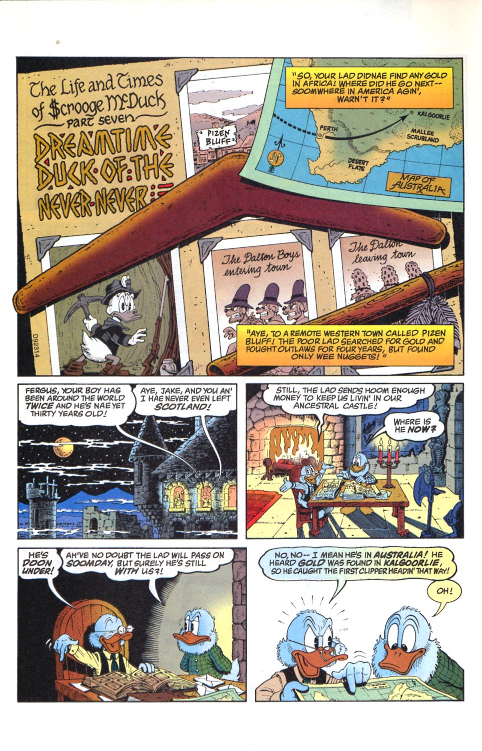 Read online Uncle Scrooge (1953) comic -  Issue #291 - 3