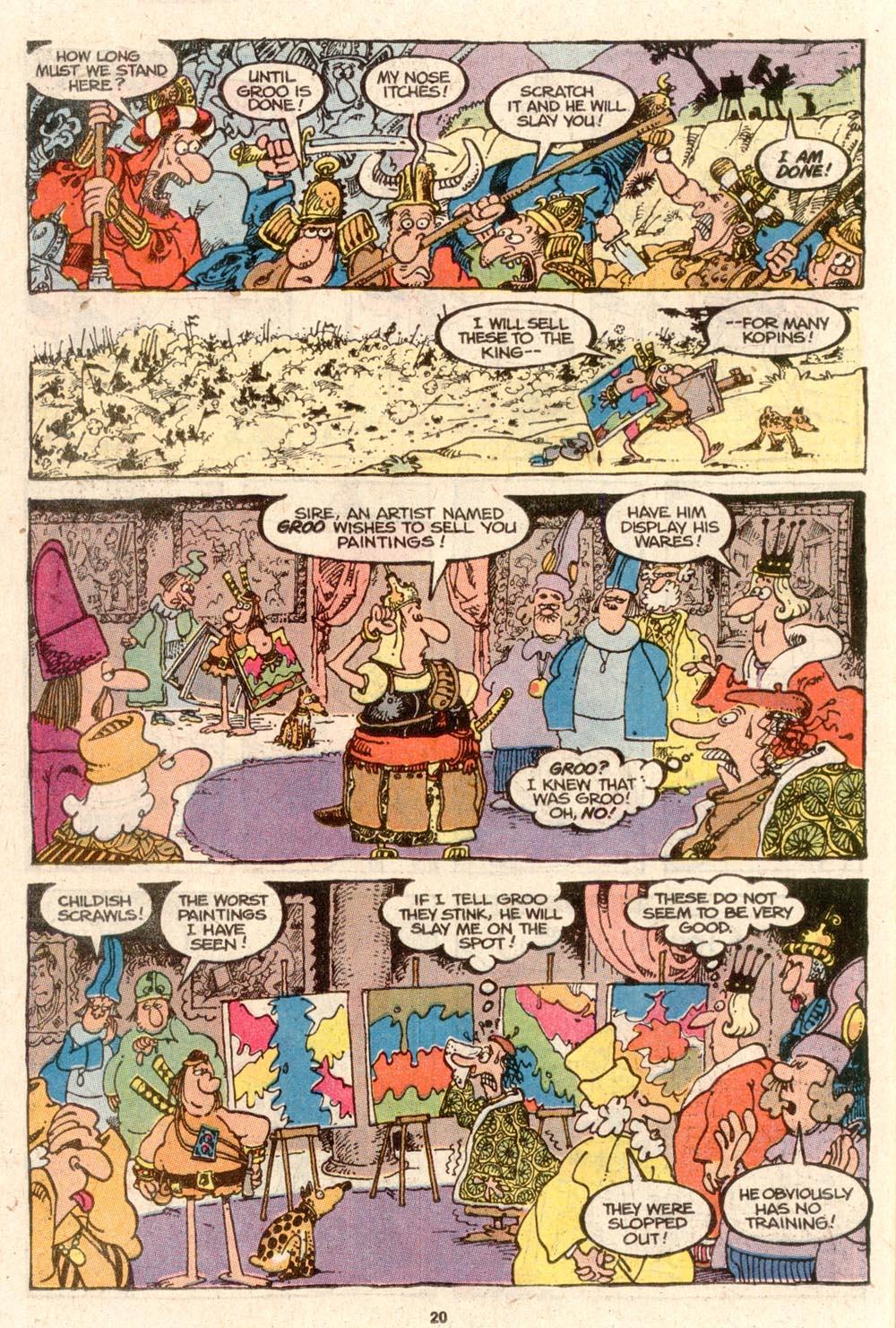 Read online Sergio Aragonés Groo the Wanderer comic -  Issue #64 - 16