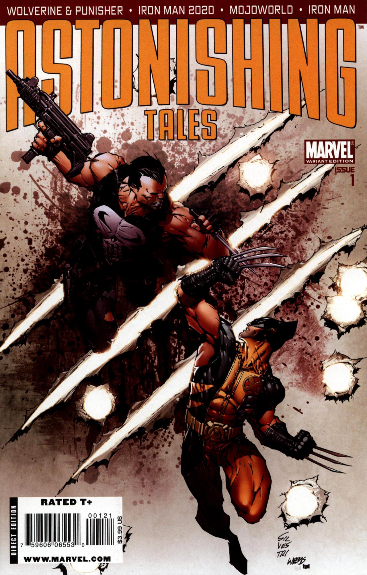 Read online Astonishing Tales (2009) comic -  Issue #1 - 2