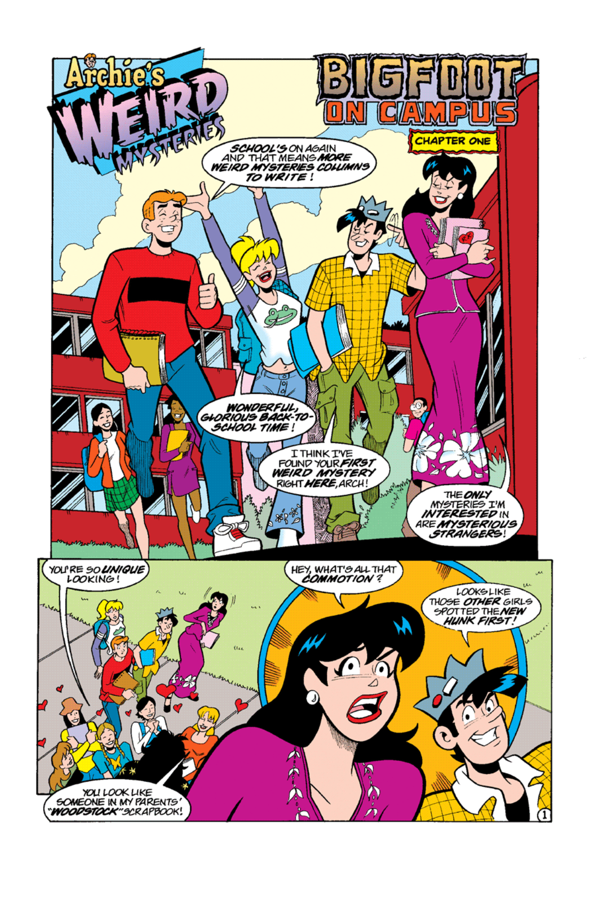 Read online Archie's Weird Mysteries comic -  Issue #10 - 3