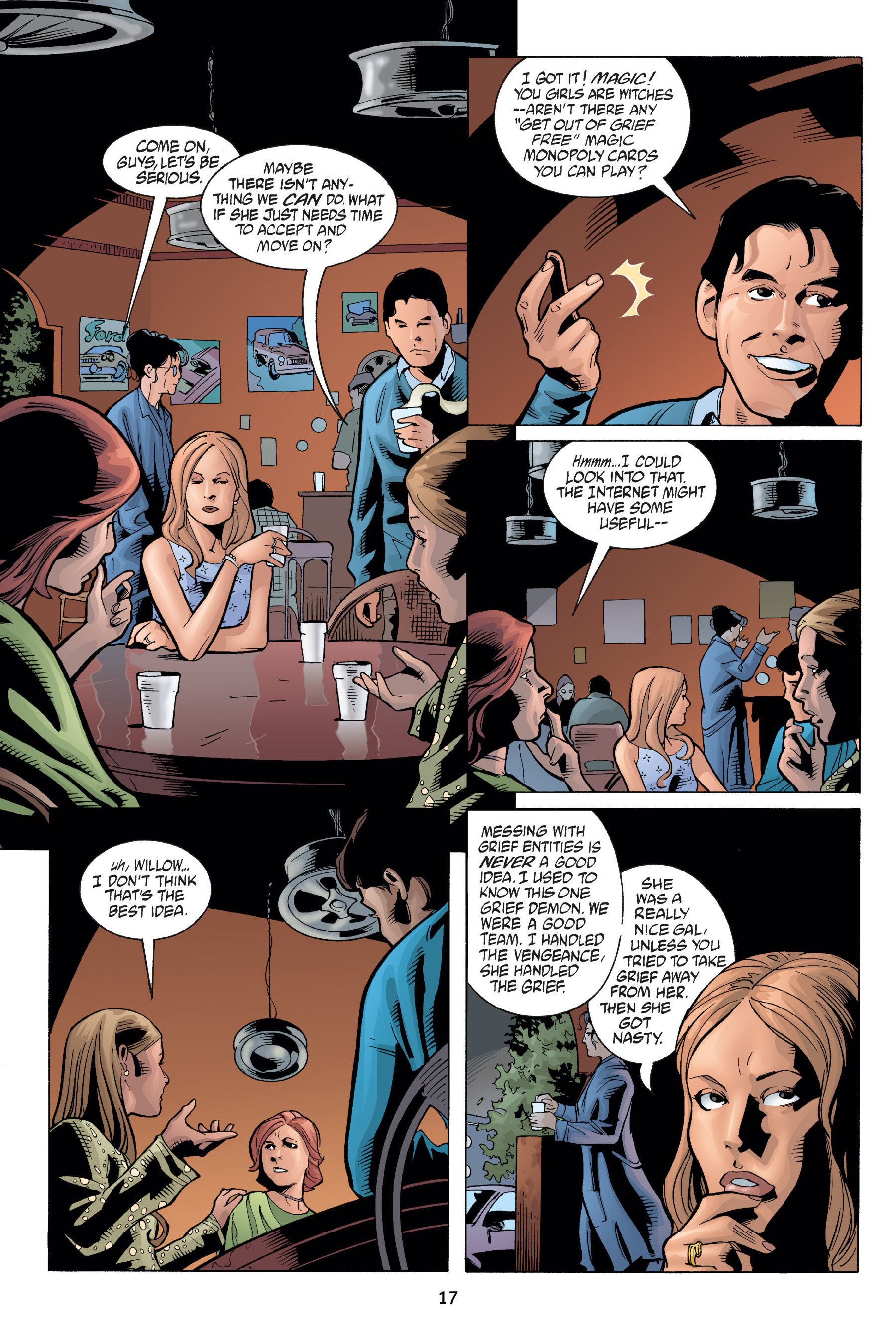 Read online Buffy the Vampire Slayer: Omnibus comic -  Issue # TPB 7 - 19