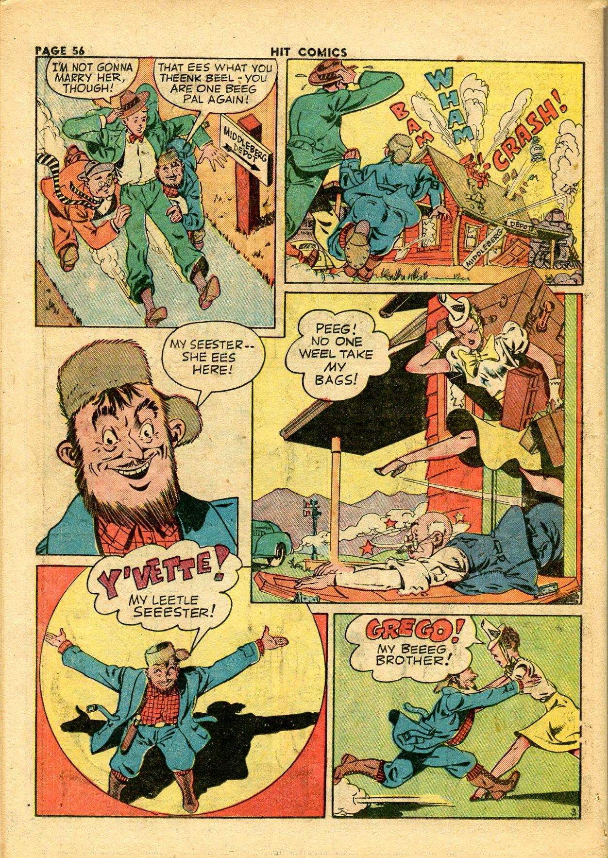 Read online Hit Comics comic -  Issue #28 - 59