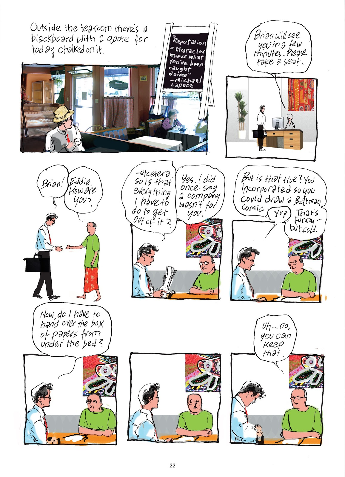 Read online The Lovely Horrible Stuff comic -  Issue # TPB - 24