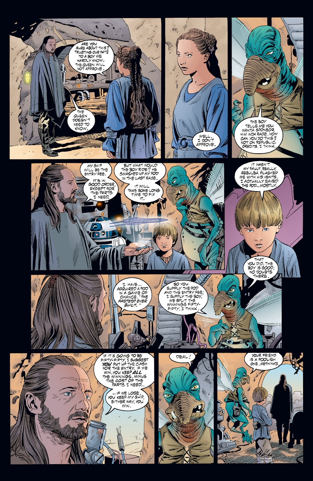 Read online Star Wars Legends: Rise of the Sith - Epic Collection comic -  Issue # TPB 2 (Part 3) - 77