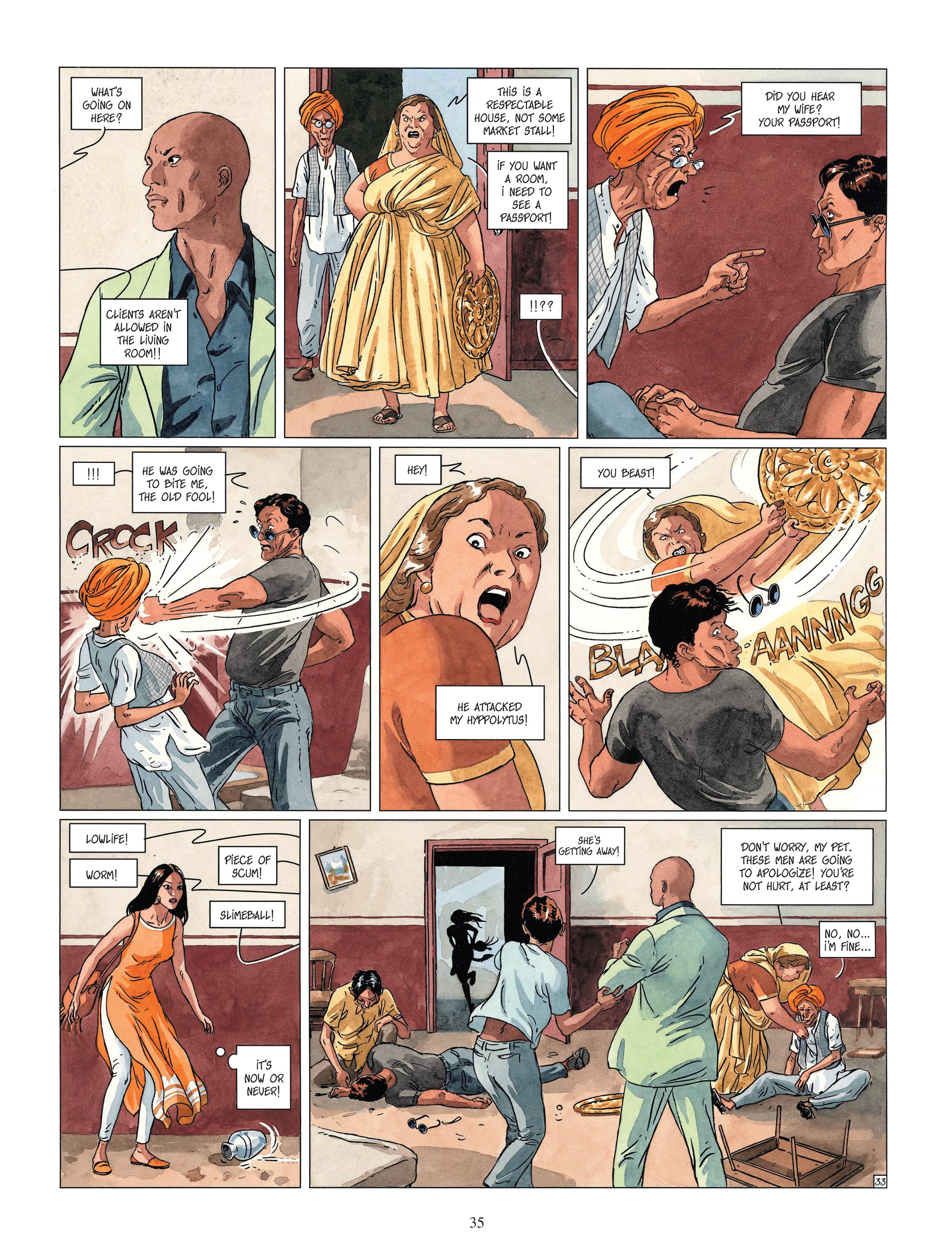 Read online Djinn comic -  Issue #13 - 36