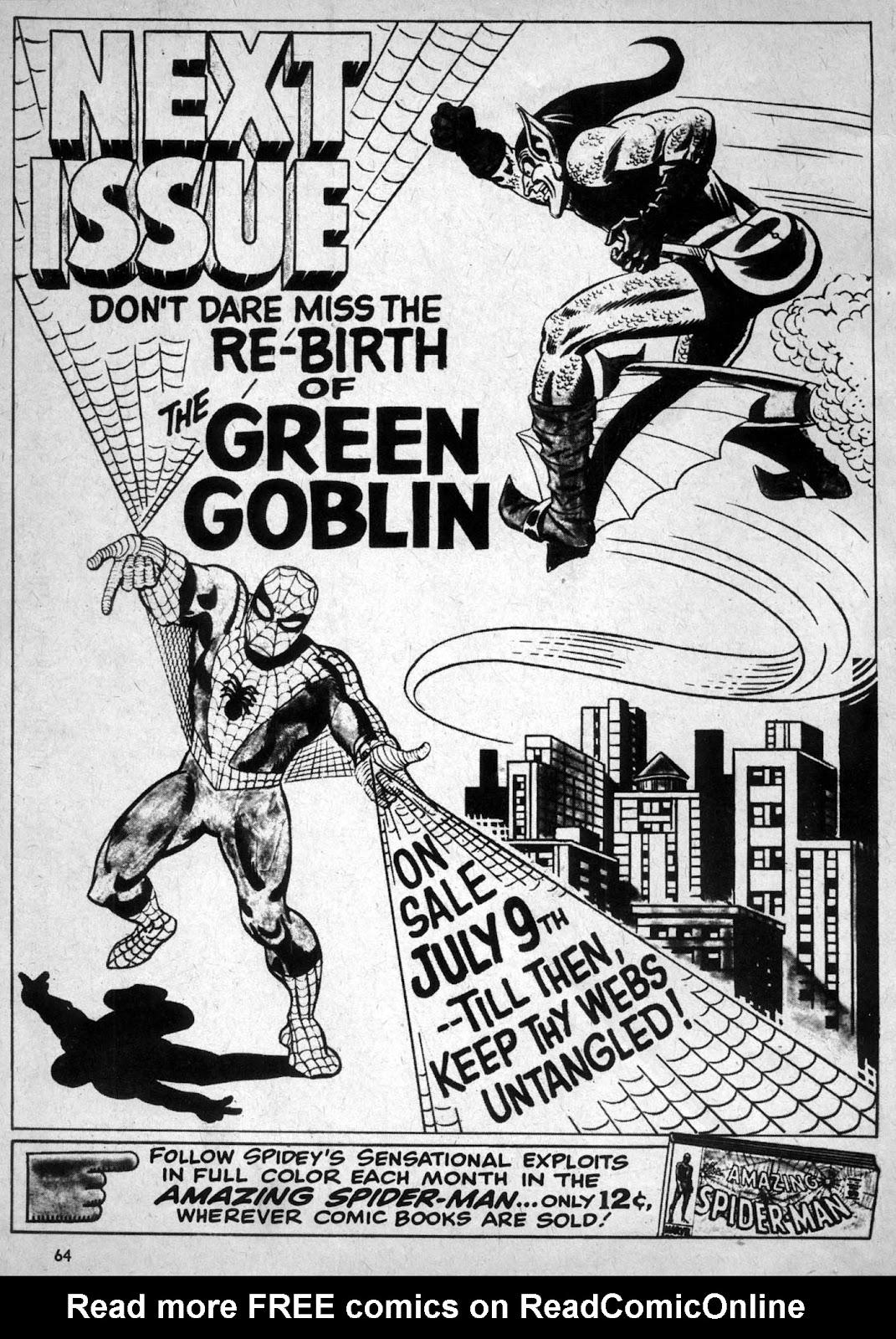 Spectacular Spider-Man Magazine issue 1 - Page 65