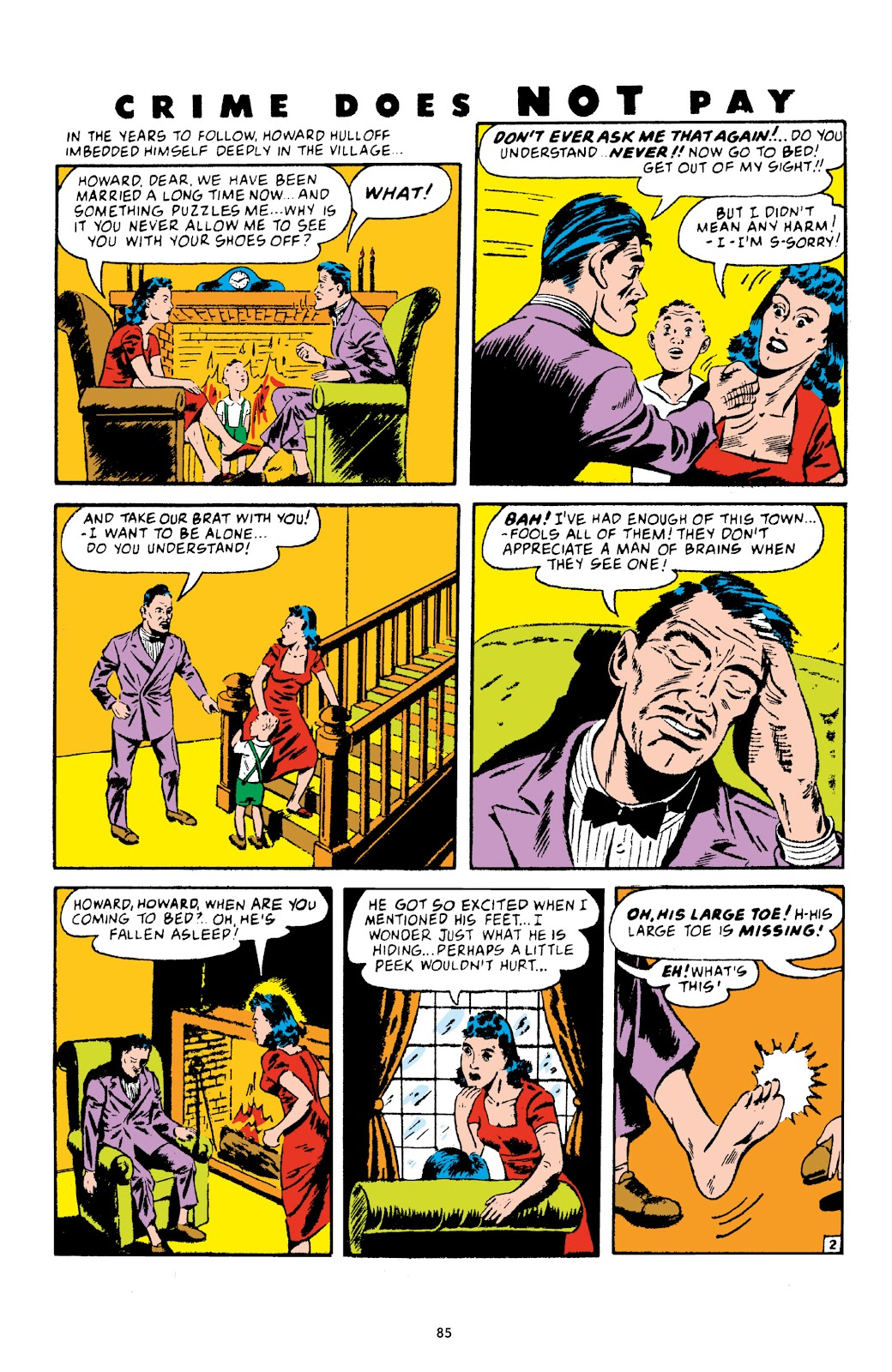 Read online Crime Does Not Pay Archives comic -  Issue # TPB 4 (Part 1) - 85
