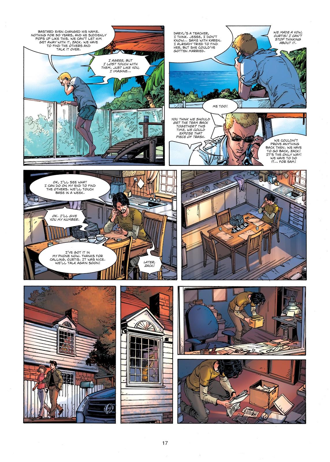 Read online Vigilantes comic -  Issue #1 - 17