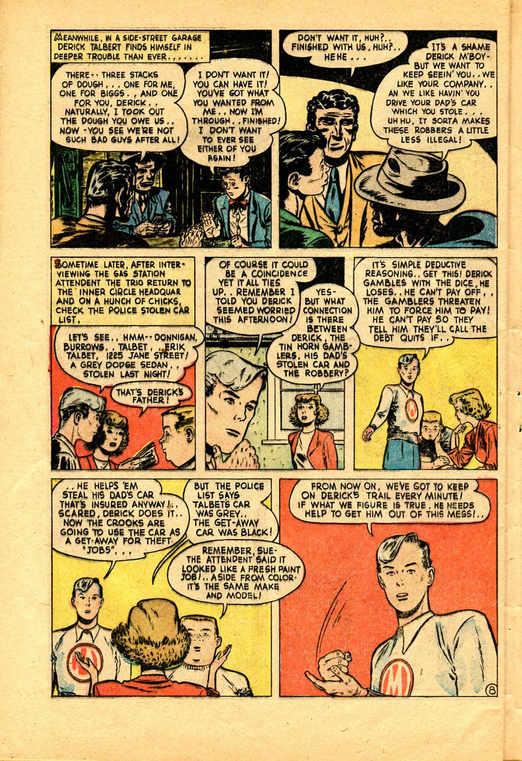Read online Shadow Comics comic -  Issue #97 - 44
