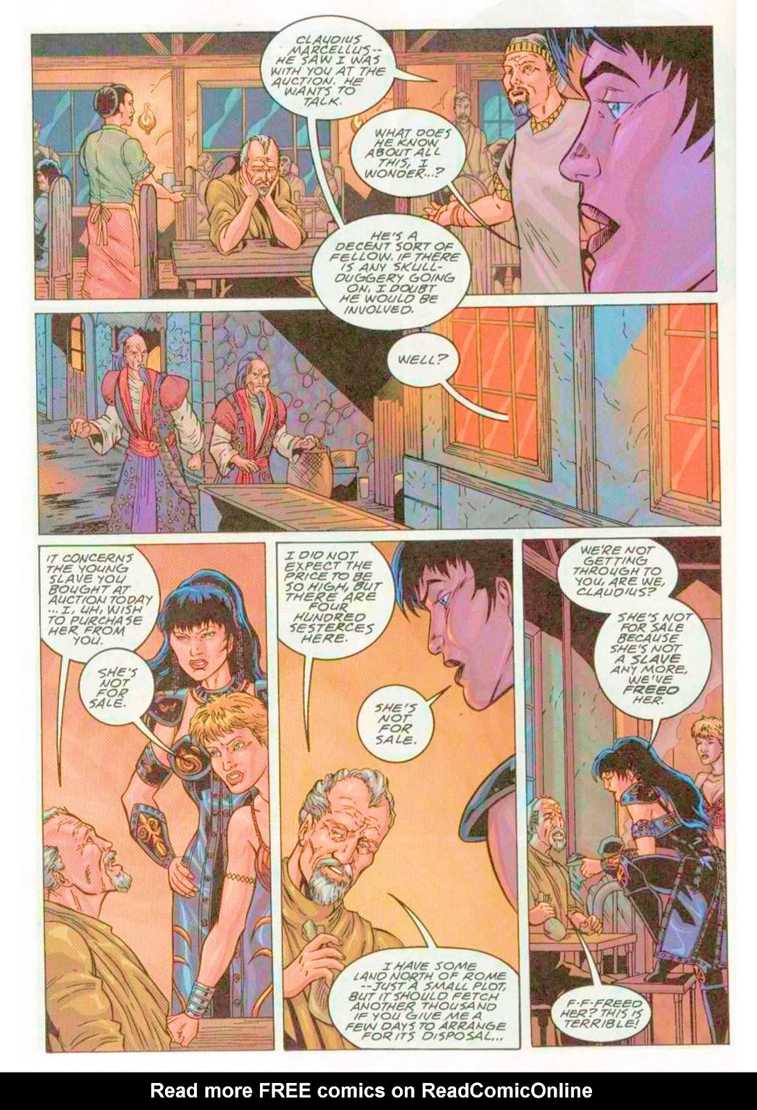 Xena: Warrior Princess (1999) Issue #4 #4 - English 22