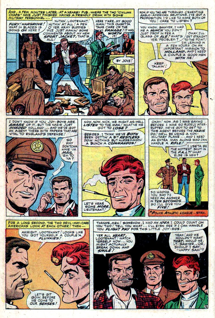 Read online Sgt. Fury comic -  Issue #34 - 10