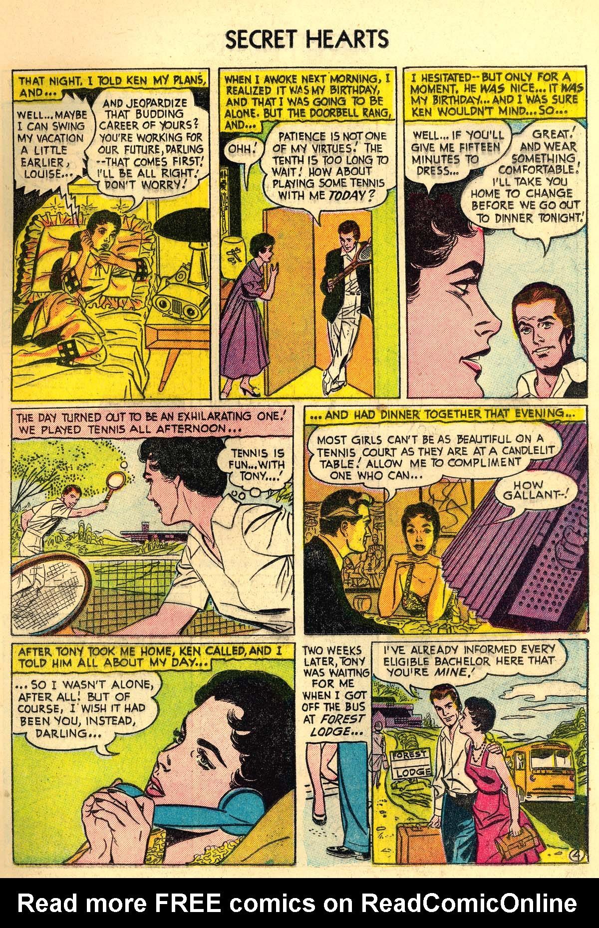 Read online Secret Hearts comic -  Issue #30 - 13