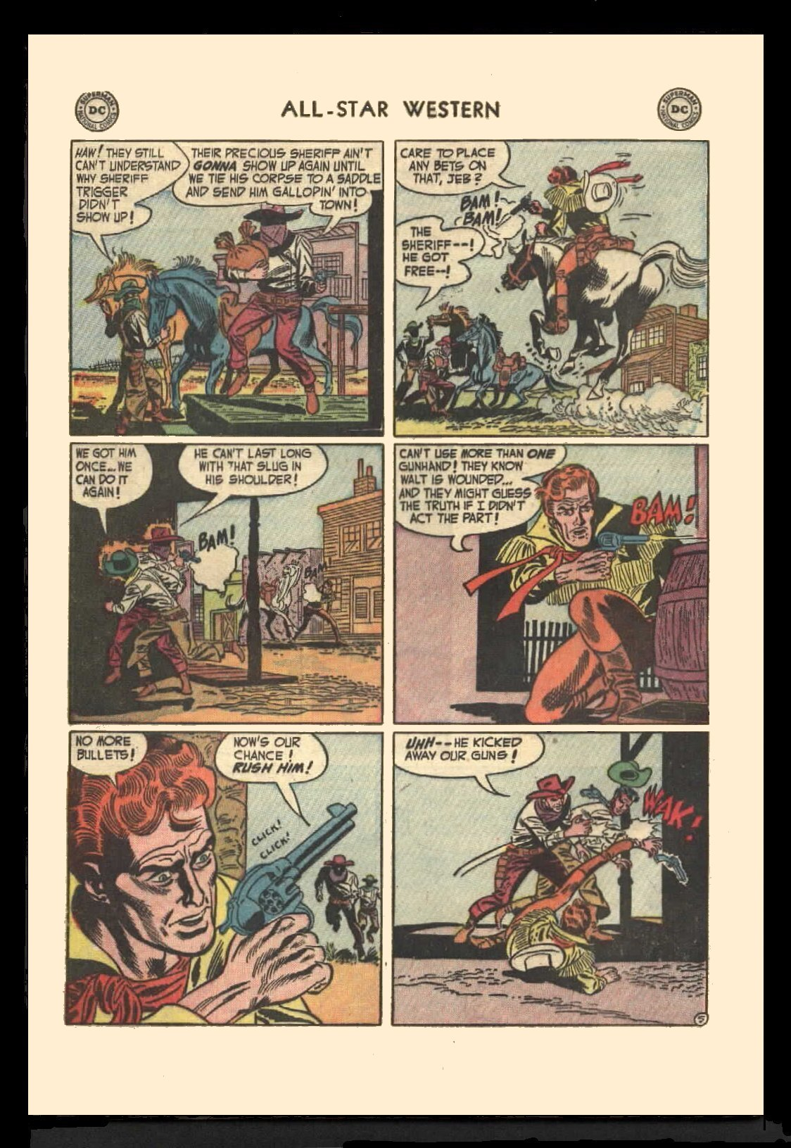 Read online All-Star Western (1951) comic -  Issue #72 - 32