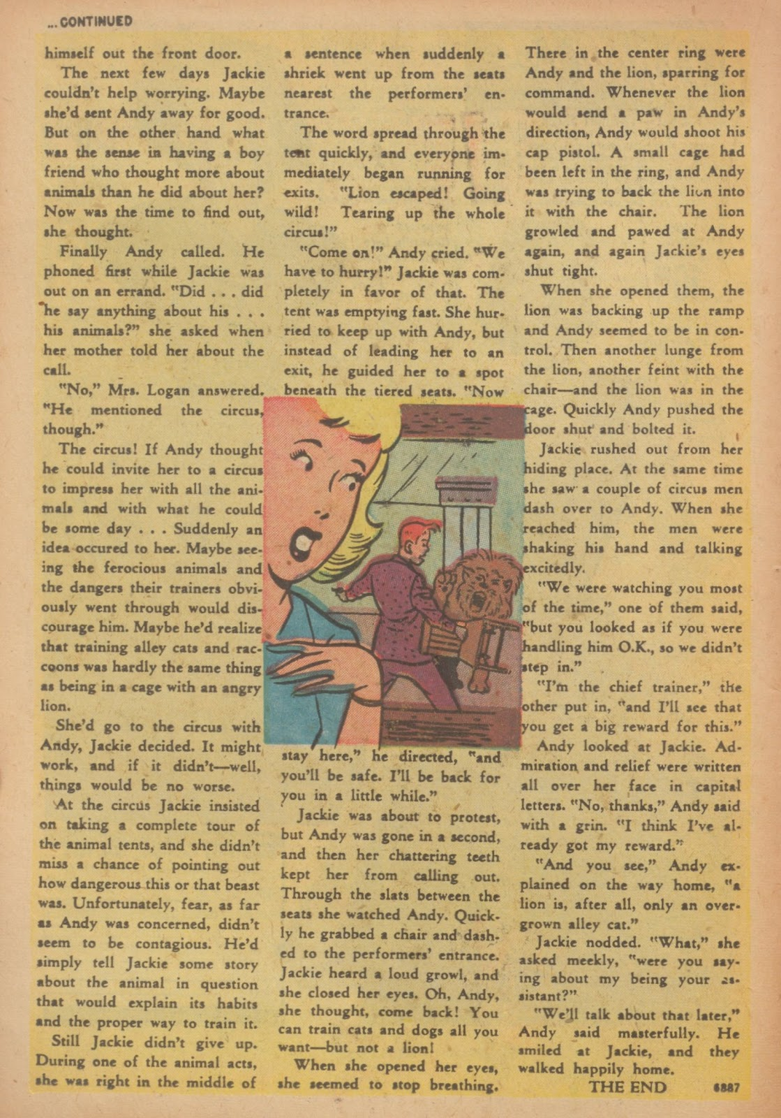 Read online Nellie The Nurse (1945) comic -  Issue #33 - 18