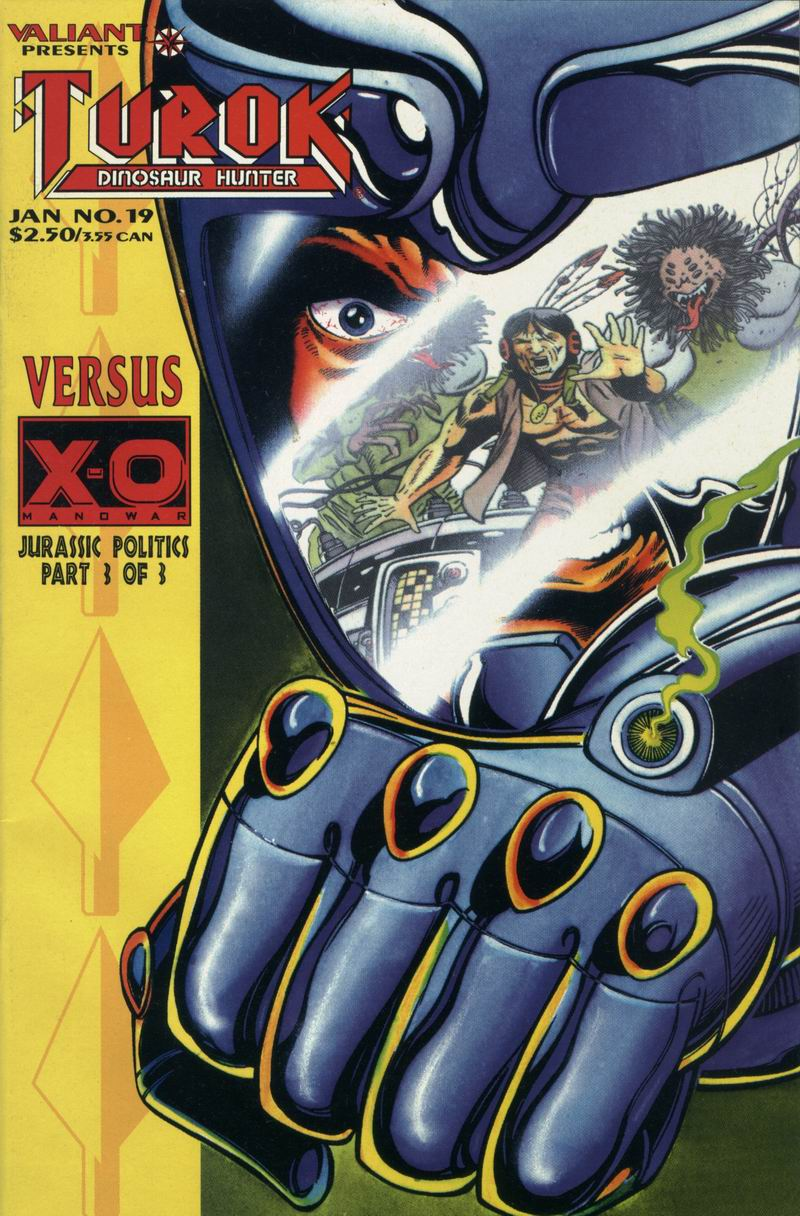 Read online Turok, Dinosaur Hunter (1993) comic -  Issue #19 - 1