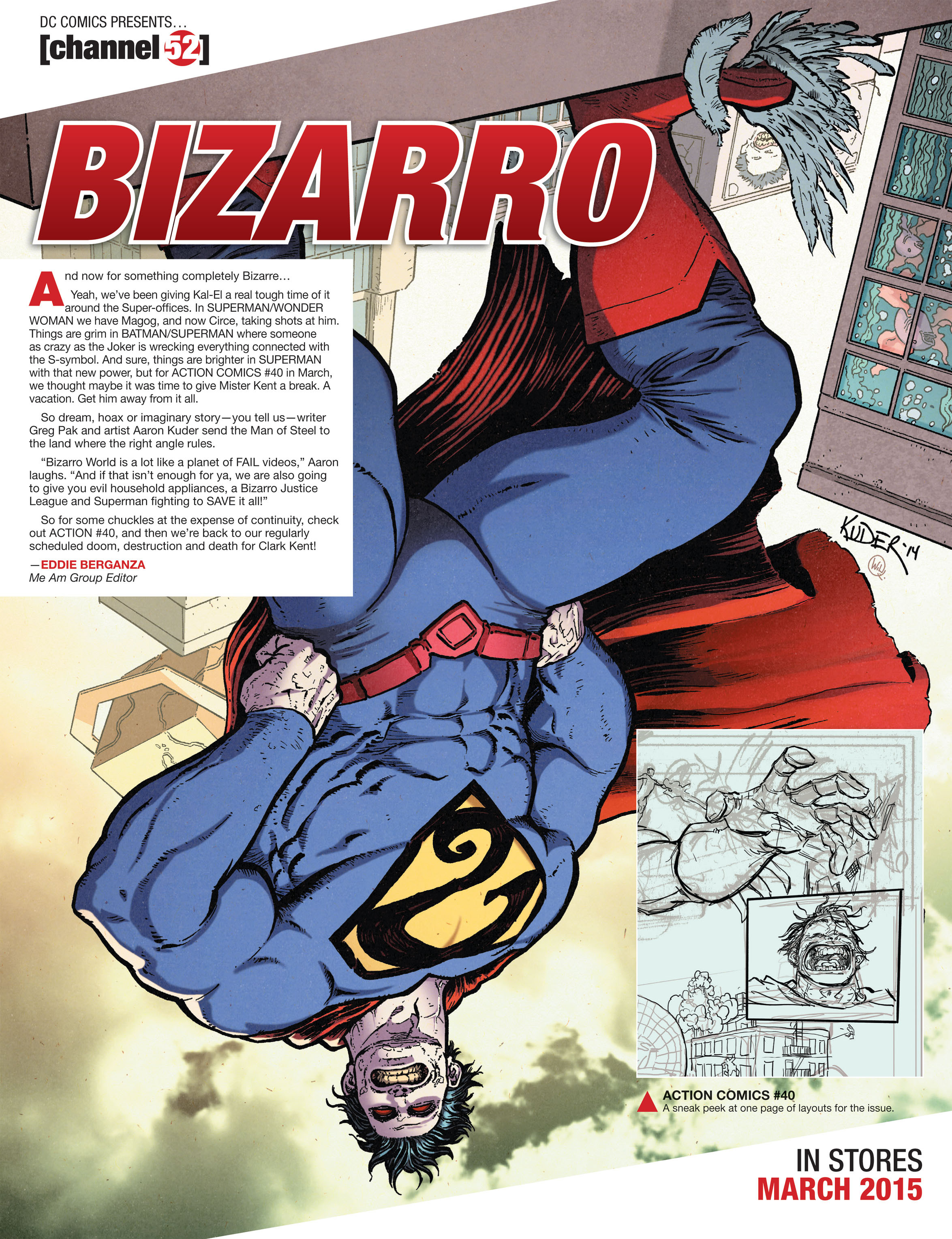 Read online Action Comics (2011) comic -  Issue #39 - 29