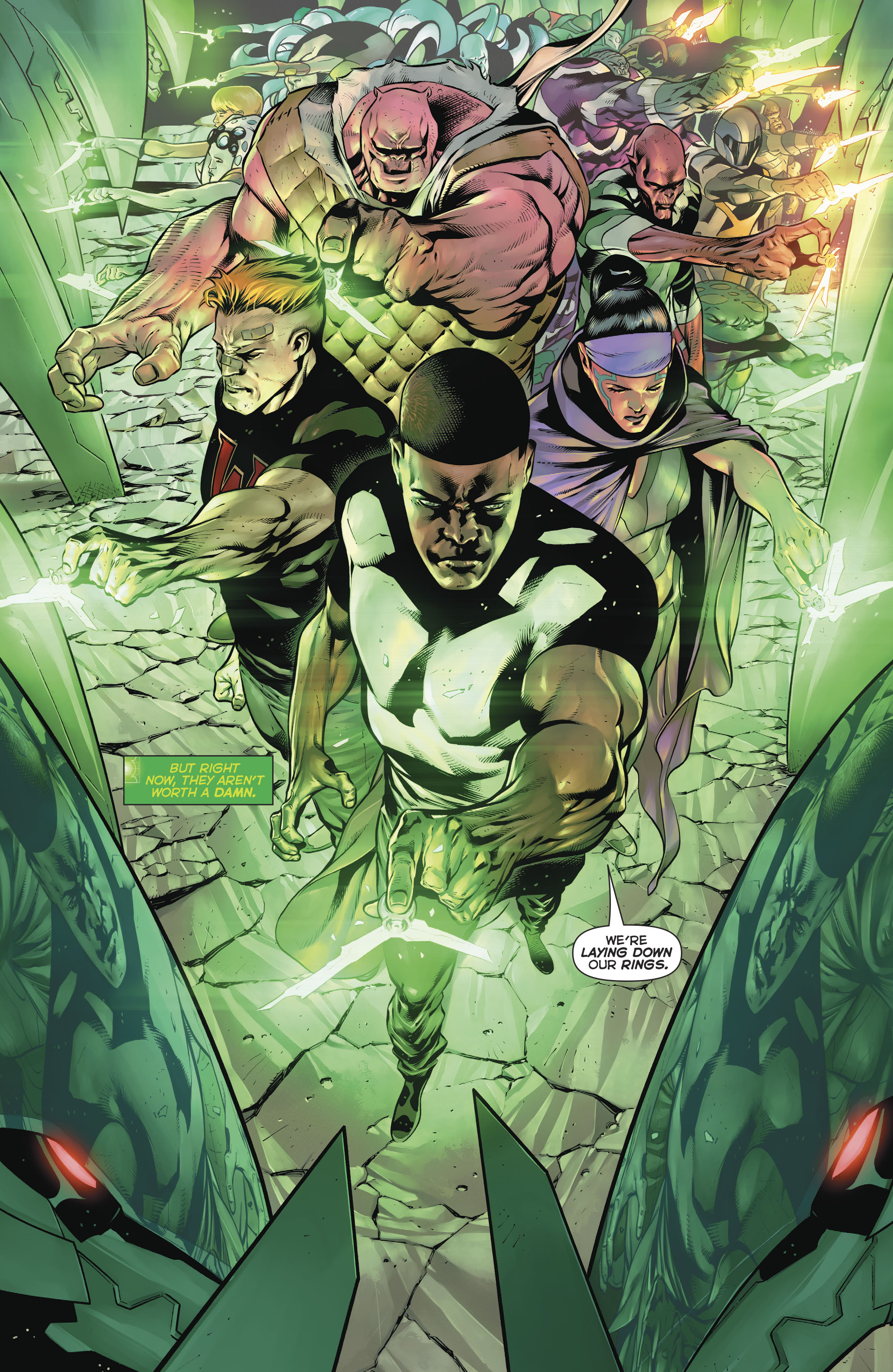 Read online Hal Jordan And The Green Lantern Corps comic -  Issue #20 - 21