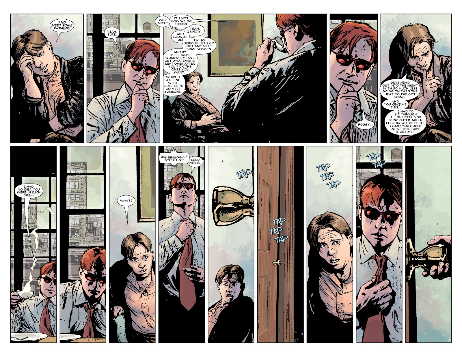 Read online Daredevil (1998) comic -  Issue # _Ultimate_Collection TPB 3 (Part 3) - 44