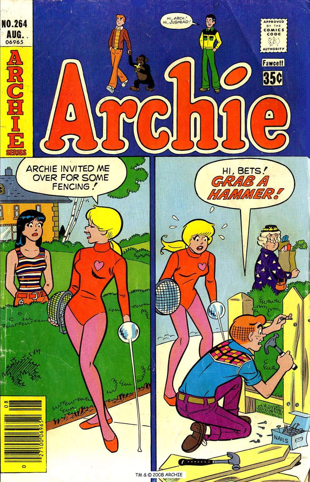 Read online Archie (1960) comic -  Issue #264 - 1