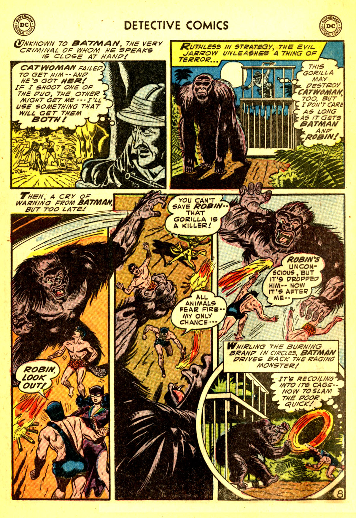 Read online Detective Comics (1937) comic -  Issue #211 - 10