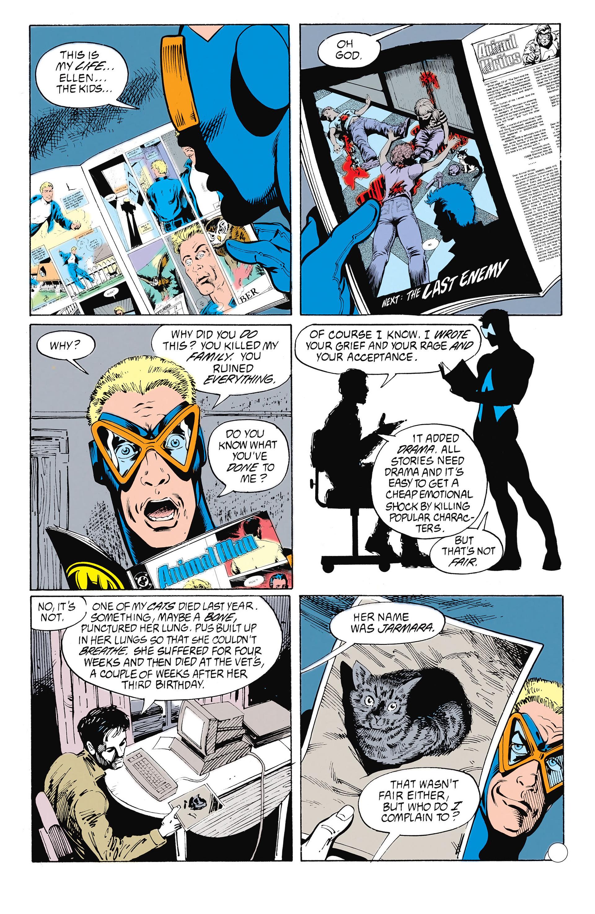 Read online Animal Man (1988) comic -  Issue #26 - 8
